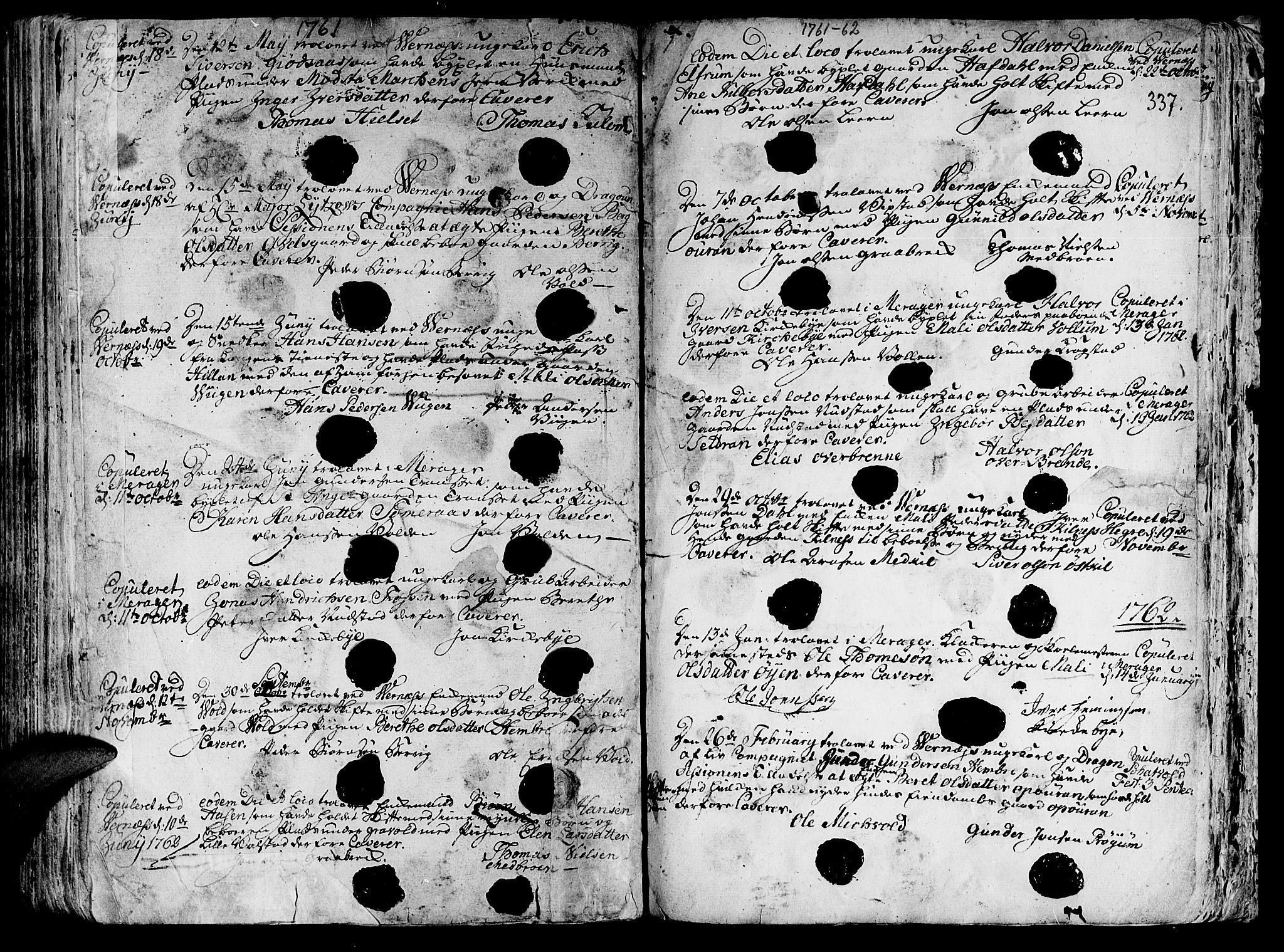 SAT, Ministerialprotokoller, klokkerbøker og fødselsregistre - Nord-Trøndelag, 709/L0057: Ministerialbok nr. 709A05, 1755-1780, s. 337