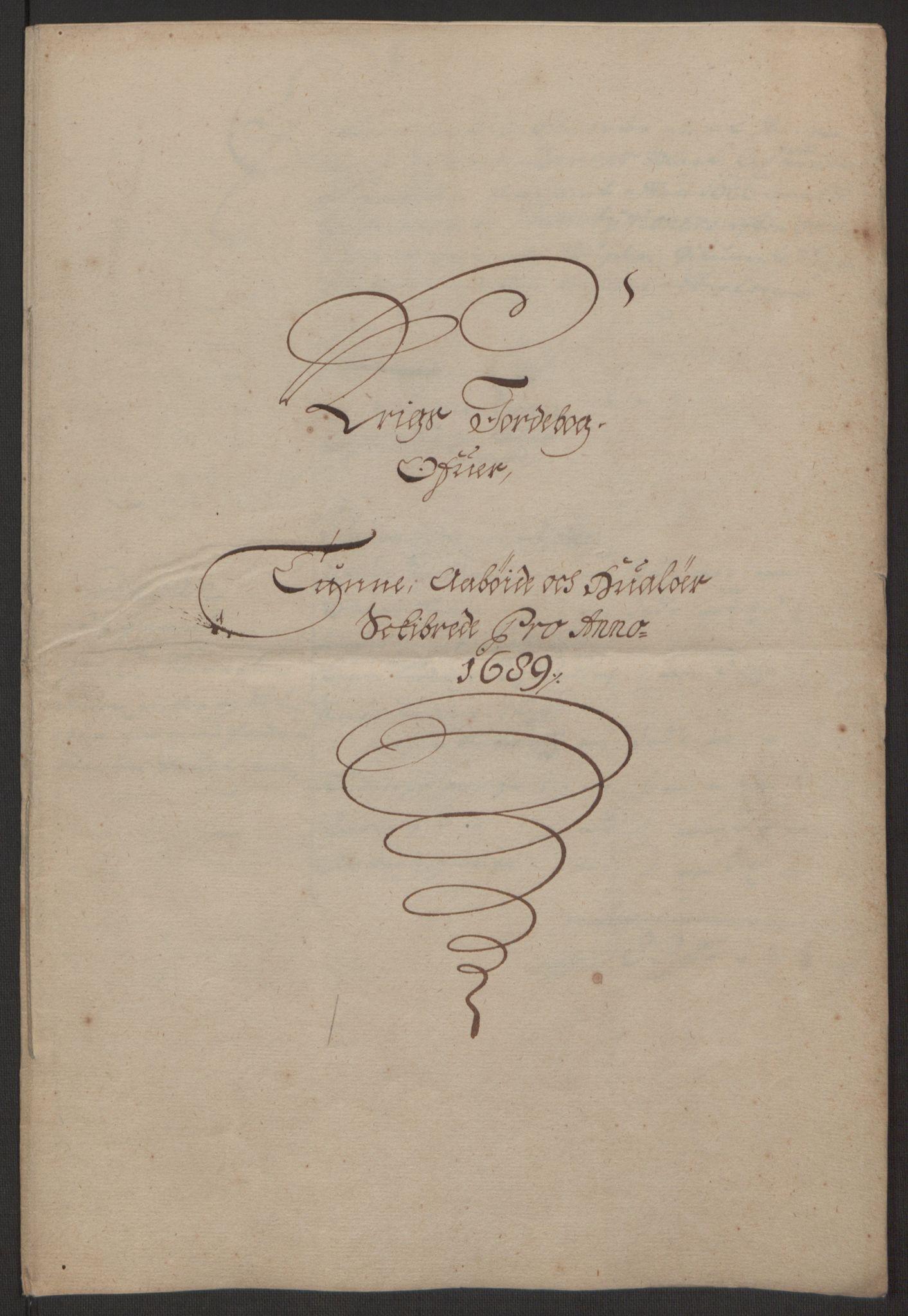 RA, Rentekammeret inntil 1814, Reviderte regnskaper, Fogderegnskap, R03/L0118: Fogderegnskap Onsøy, Tune, Veme og Åbygge fogderi, 1684-1689, s. 261