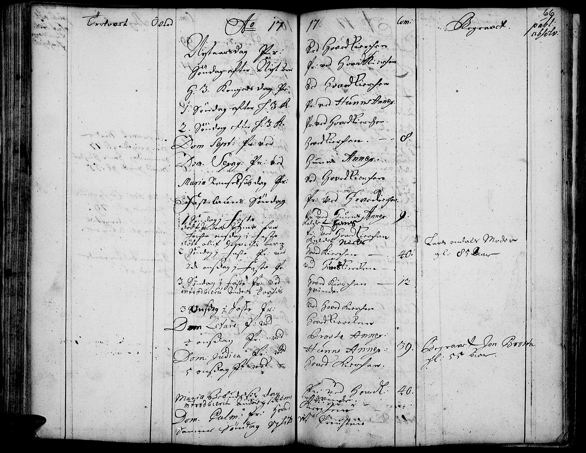 SAH, Vardal prestekontor, H/Ha/Haa/L0001: Ministerialbok nr. 1, 1706-1748, s. 66