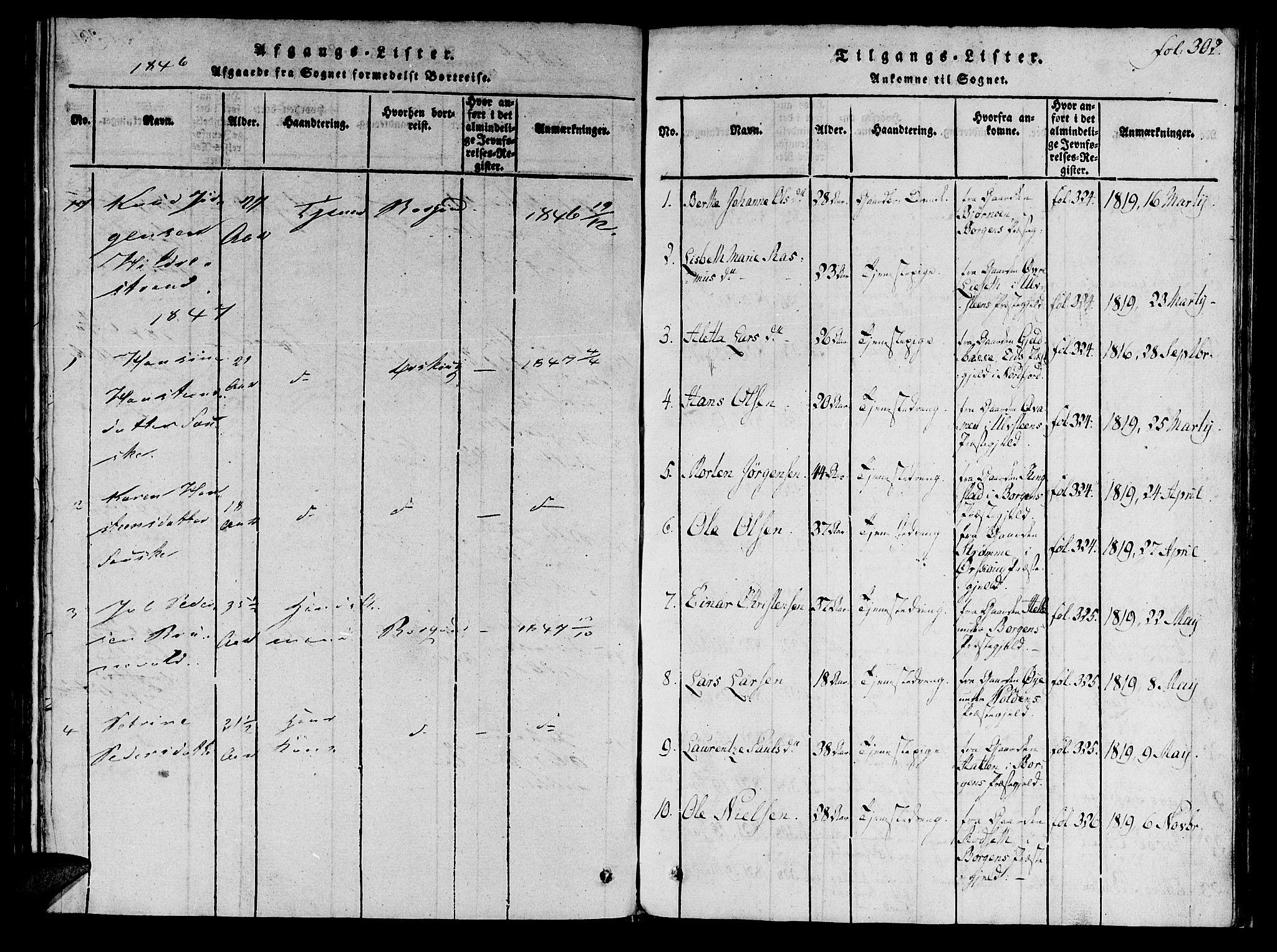 SAT, Ministerialprotokoller, klokkerbøker og fødselsregistre - Møre og Romsdal, 536/L0495: Ministerialbok nr. 536A04, 1818-1847, s. 292