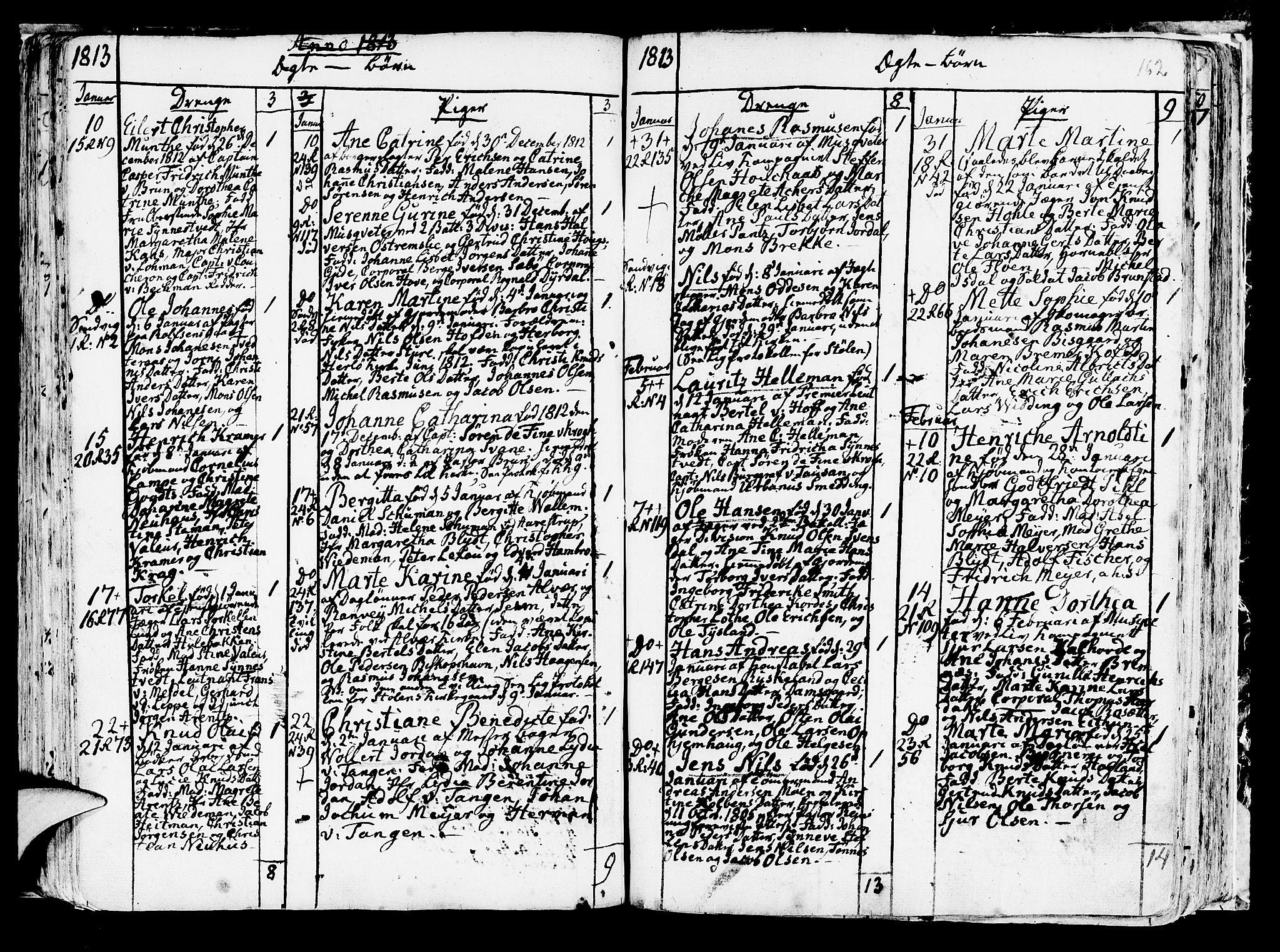 SAB, Korskirken Sokneprestembete, H/Haa/L0006: Ministerialbok nr. A 6, 1790-1820, s. 162