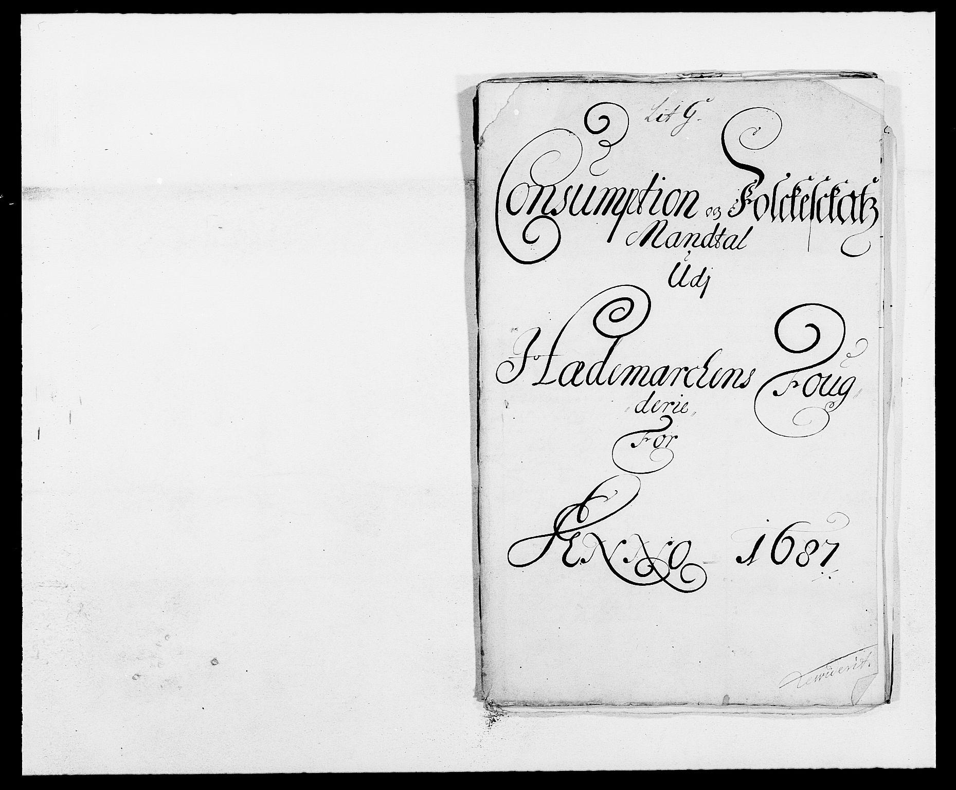 RA, Rentekammeret inntil 1814, Reviderte regnskaper, Fogderegnskap, R16/L1028: Fogderegnskap Hedmark, 1687, s. 110