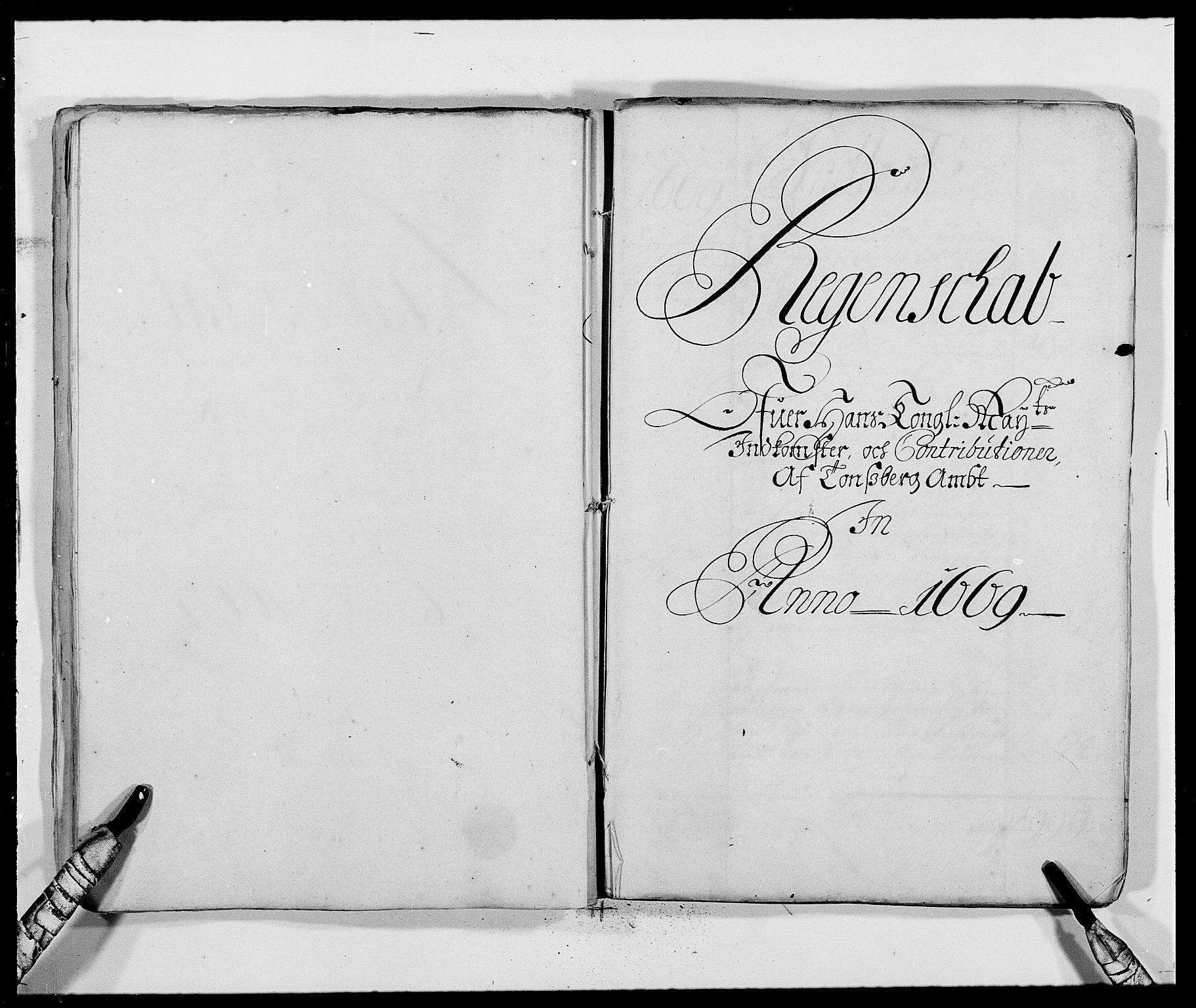 RA, Rentekammeret inntil 1814, Reviderte regnskaper, Fogderegnskap, R32/L1839: Fogderegnskap Jarlsberg grevskap, 1664-1673, s. 73