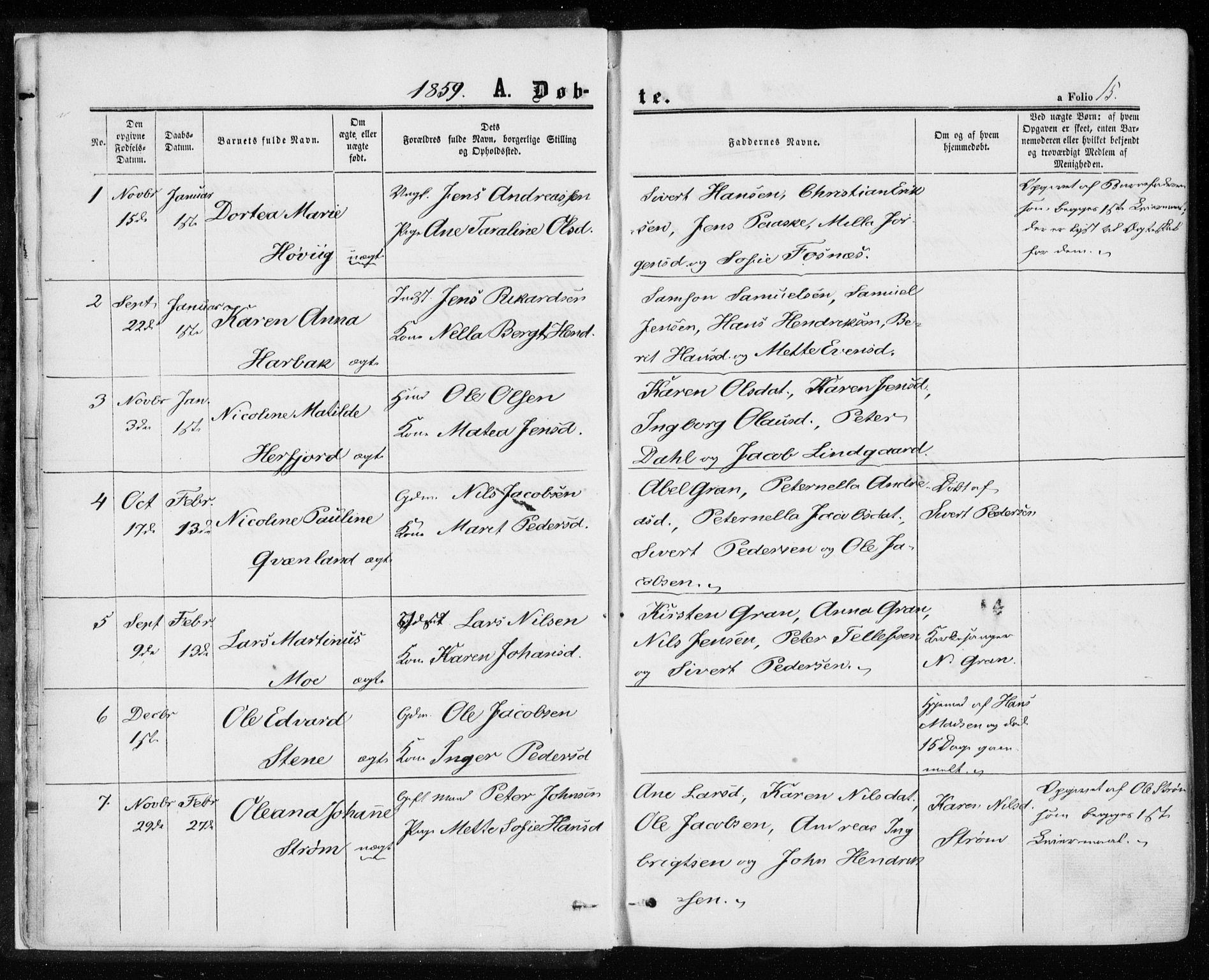 SAT, Ministerialprotokoller, klokkerbøker og fødselsregistre - Sør-Trøndelag, 657/L0705: Ministerialbok nr. 657A06, 1858-1867, s. 15