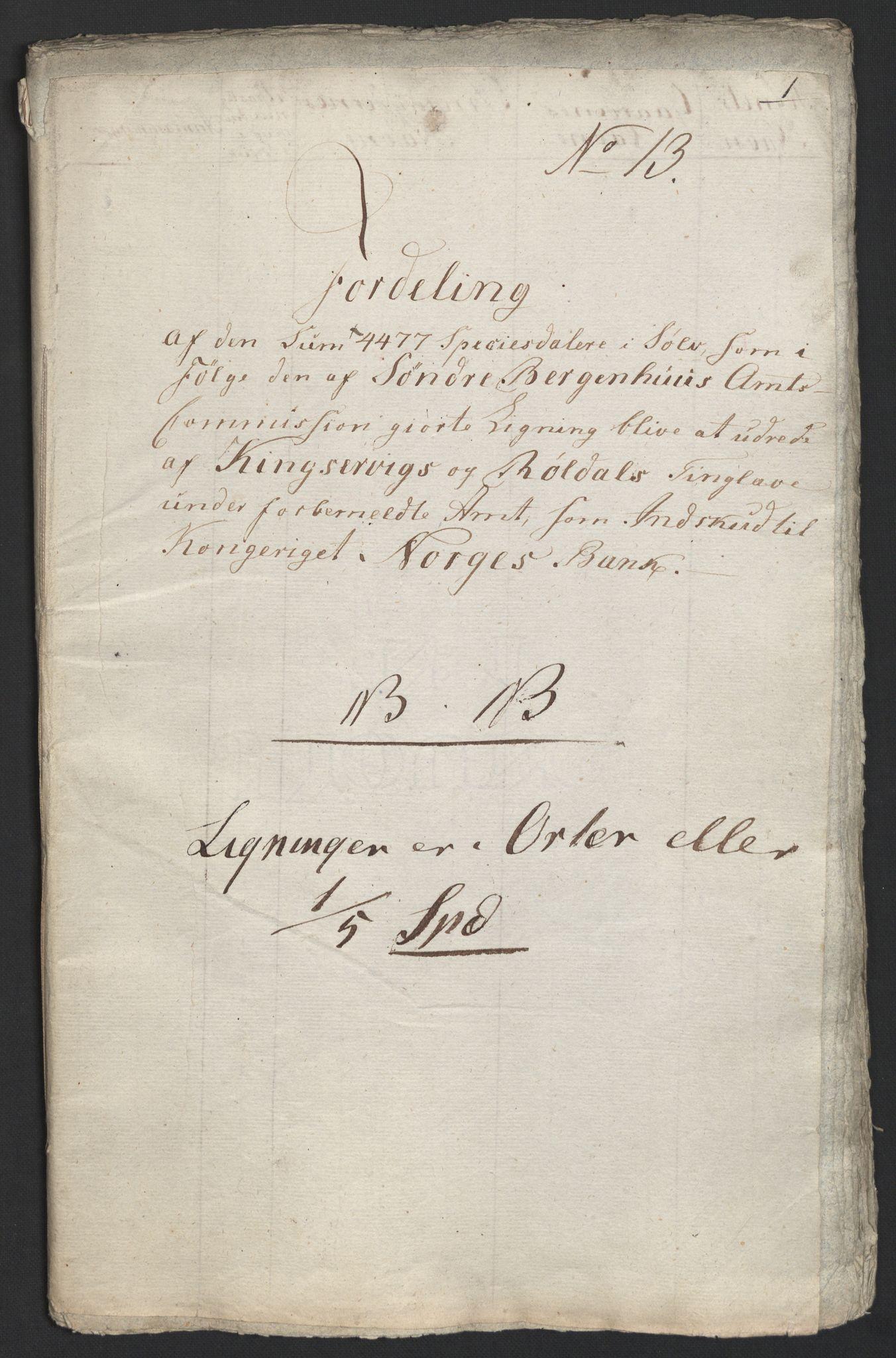 NOBA, Norges Bank/Sølvskatten 1816*, 1816, s. 112
