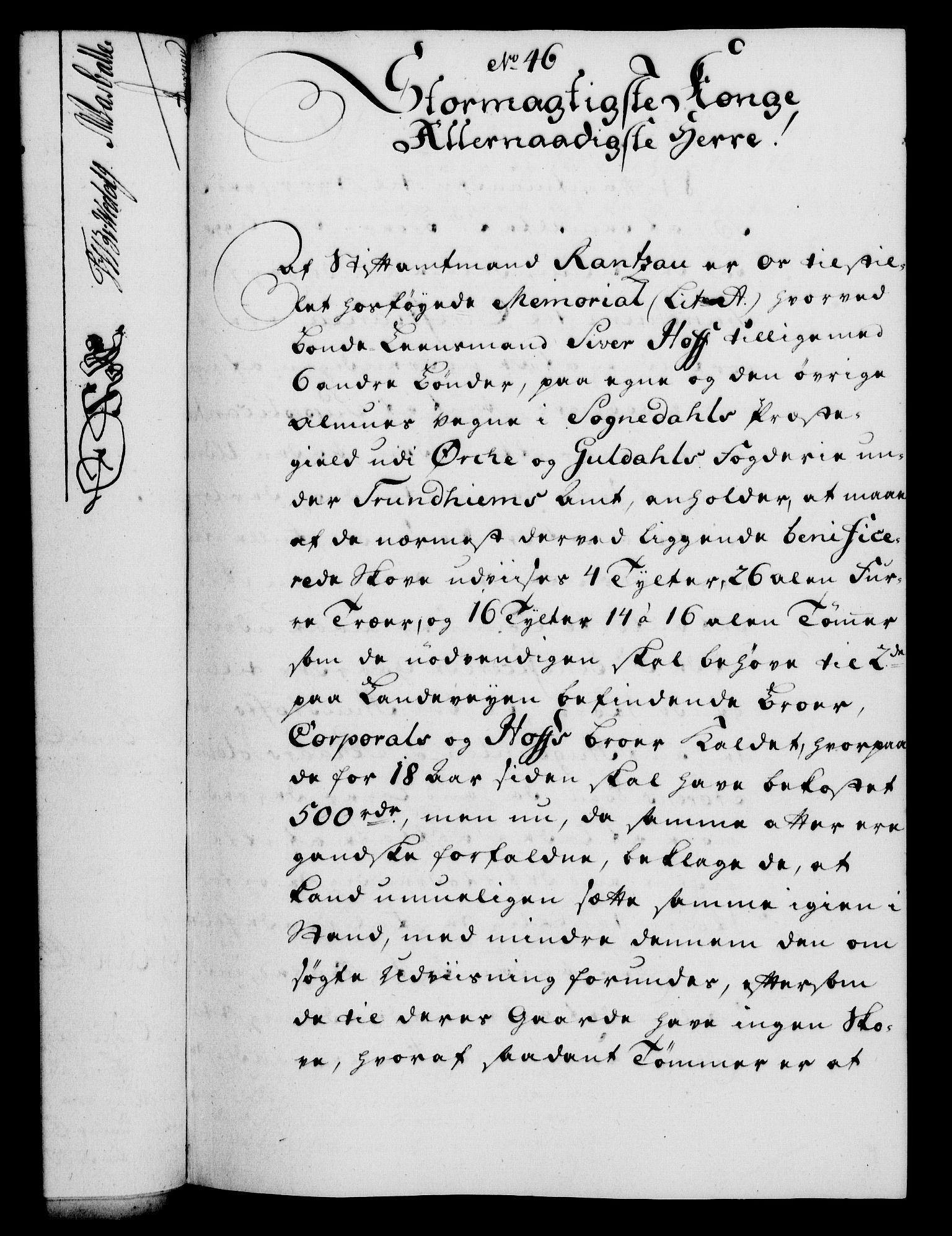 RA, Rentekammeret, Kammerkanselliet, G/Gf/Gfa/L0037: Norsk relasjons- og resolusjonsprotokoll (merket RK 52.37), 1755, s. 262