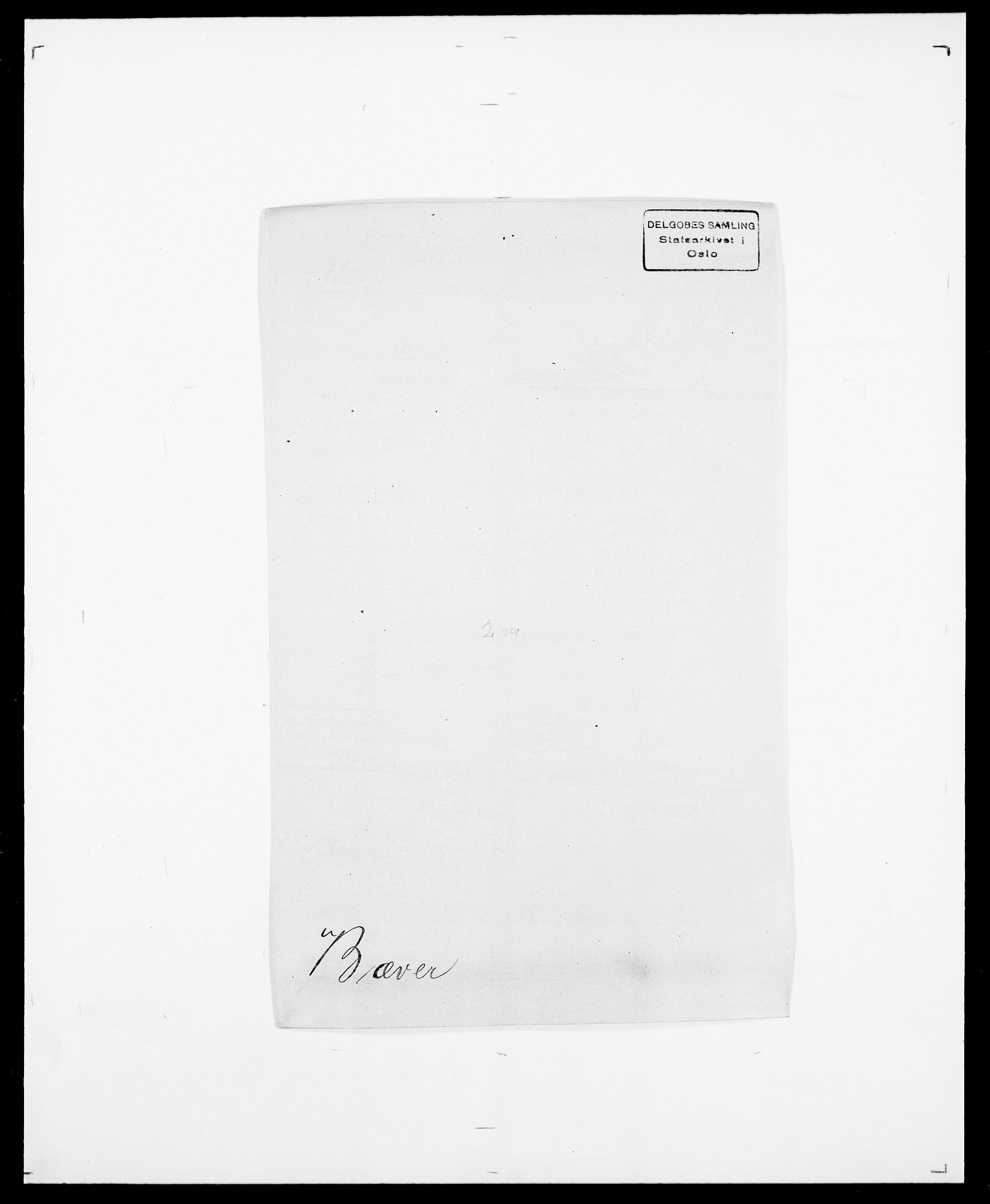 SAO, Delgobe, Charles Antoine - samling, D/Da/L0007: Buaas - Caphengst, s. 560