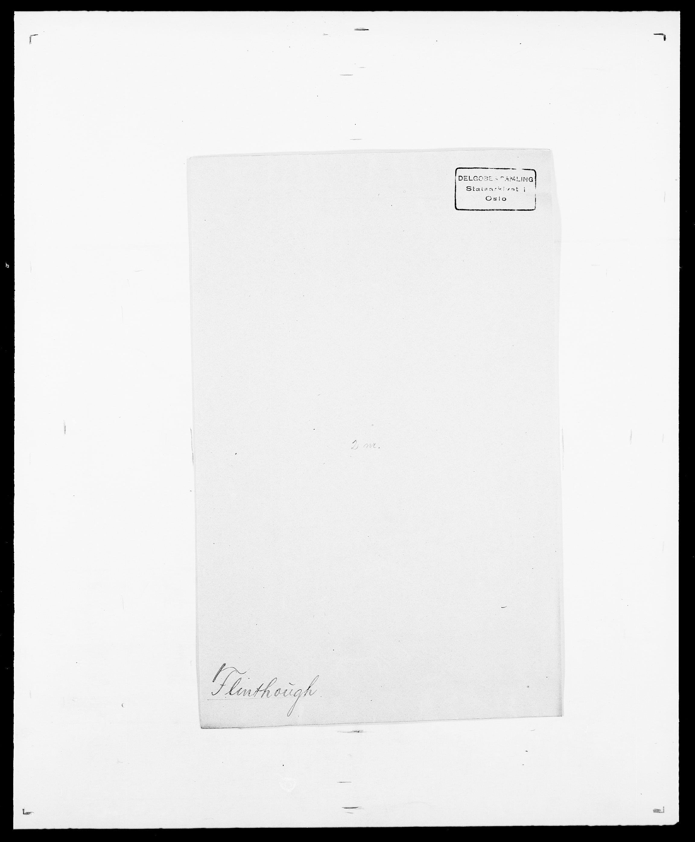 SAO, Delgobe, Charles Antoine - samling, D/Da/L0011: Fahlander - Flood, Flod, s. 670