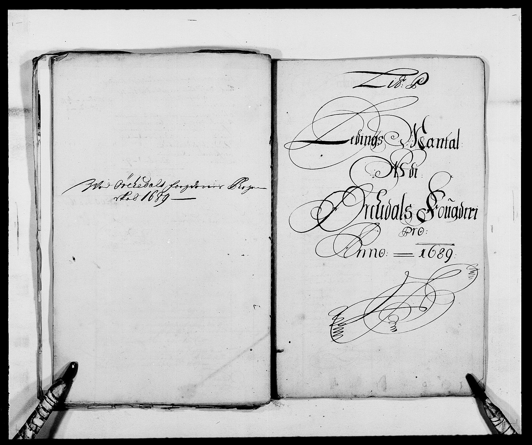 RA, Rentekammeret inntil 1814, Reviderte regnskaper, Fogderegnskap, R58/L3936: Fogderegnskap Orkdal, 1689-1690, s. 150