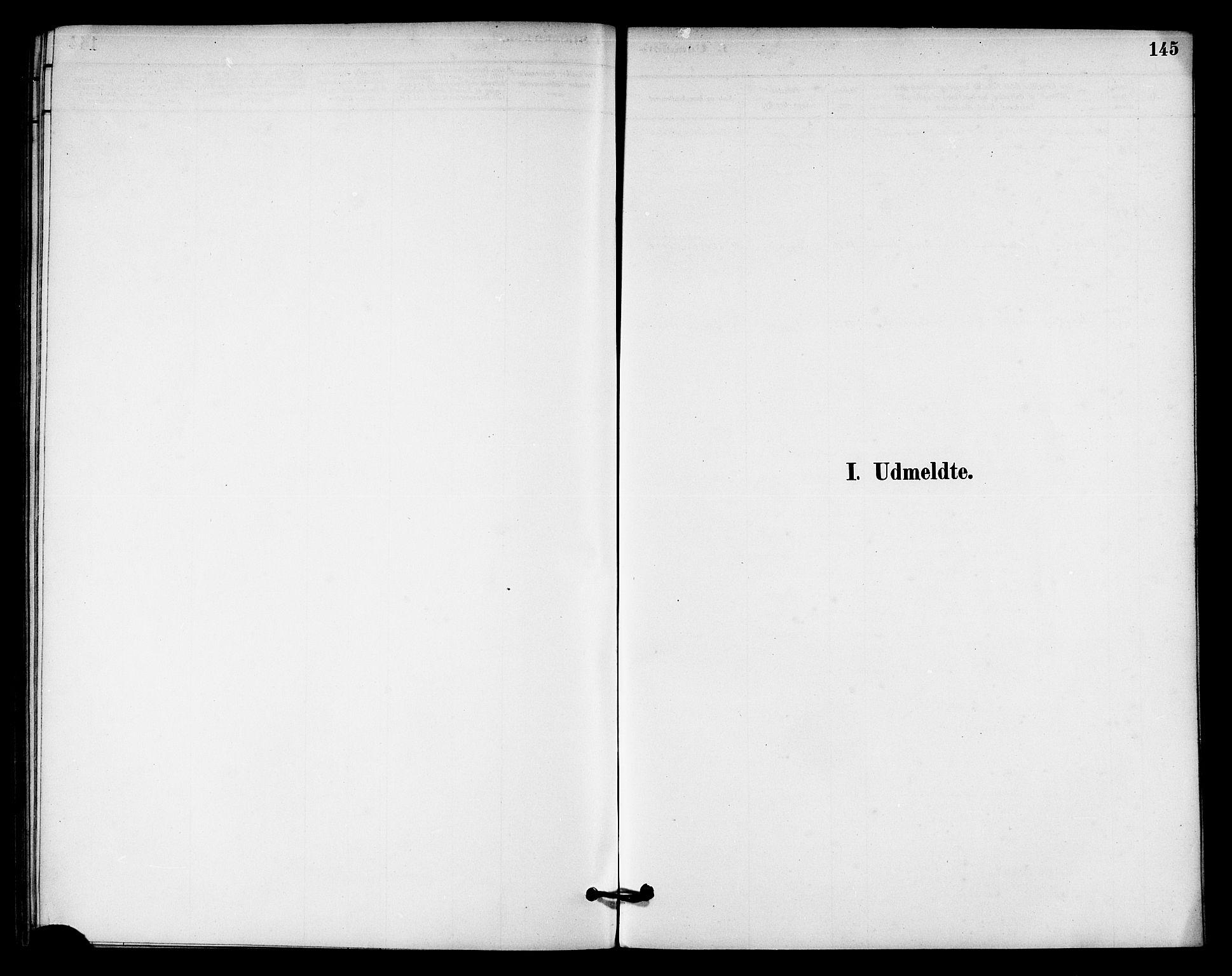 SAT, Ministerialprotokoller, klokkerbøker og fødselsregistre - Nord-Trøndelag, 740/L0378: Ministerialbok nr. 740A01, 1881-1895, s. 145