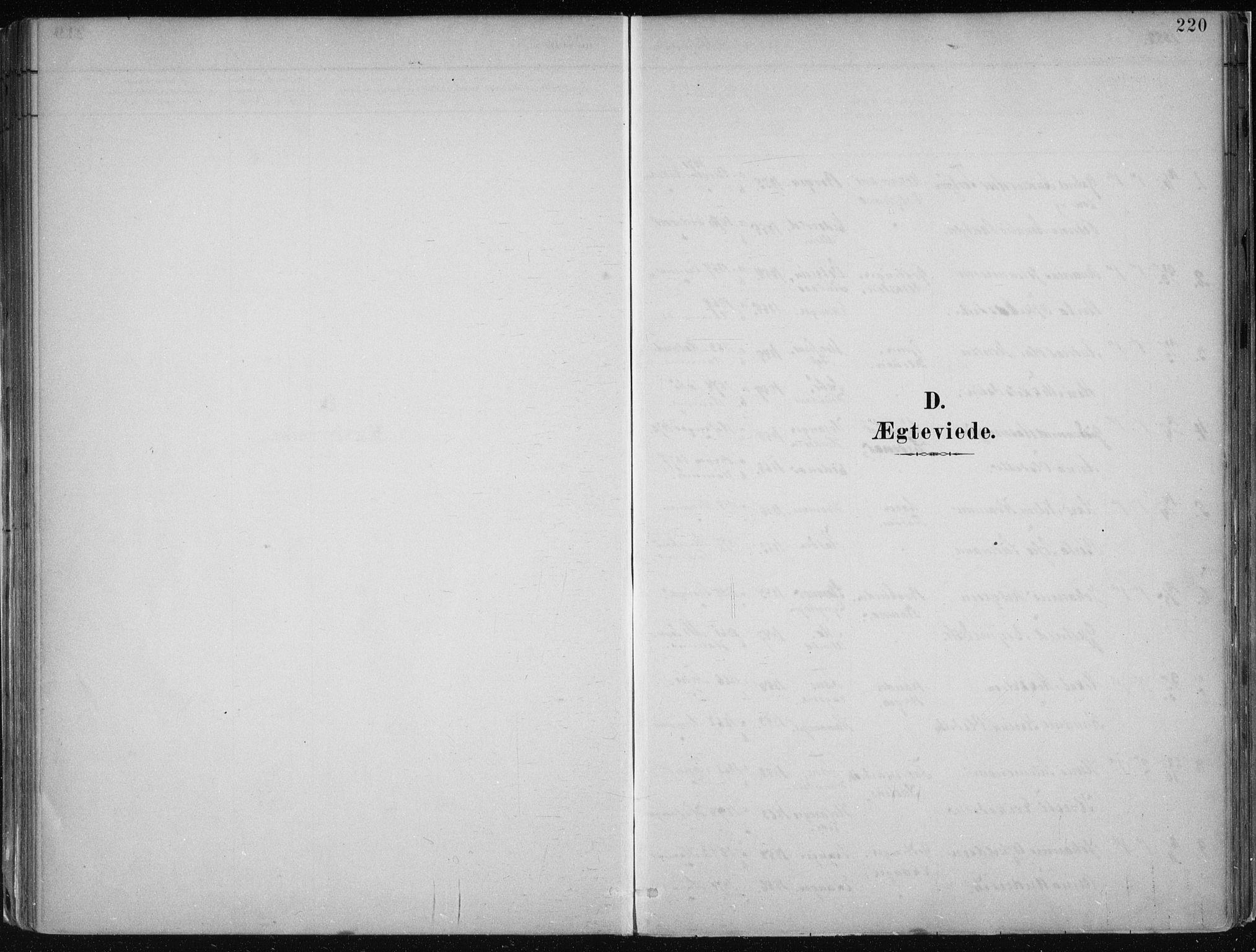 SAB, Hamre Sokneprestembete, H/Haa: Ministerialbok nr. B  1, 1882-1905, s. 220