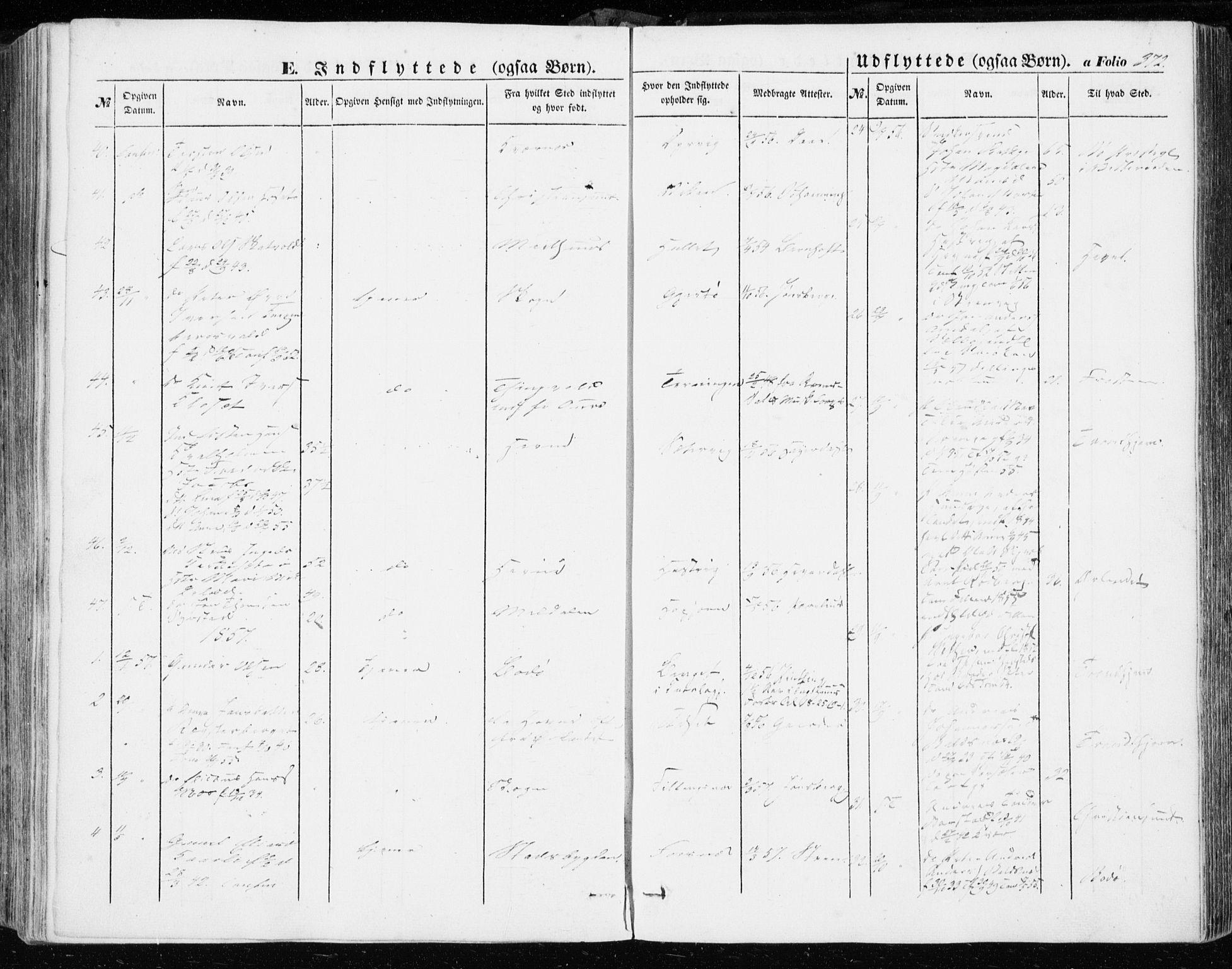 SAT, Ministerialprotokoller, klokkerbøker og fødselsregistre - Sør-Trøndelag, 634/L0530: Ministerialbok nr. 634A06, 1852-1860, s. 372