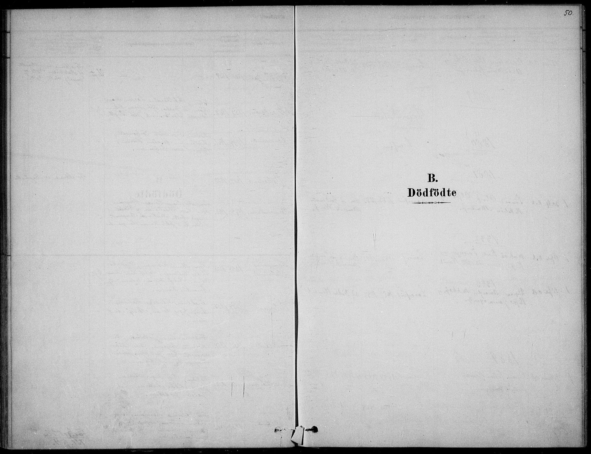 SAKO, Langesund kirkebøker, F/Fa/L0002: Ministerialbok nr. 2, 1878-1892, s. 50
