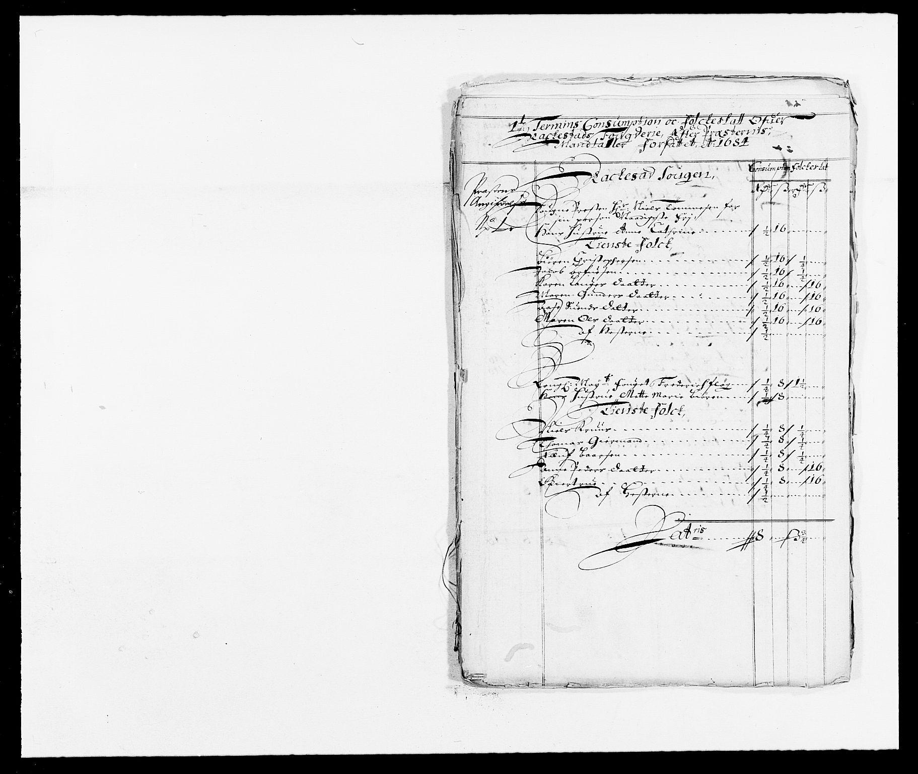 RA, Rentekammeret inntil 1814, Reviderte regnskaper, Fogderegnskap, R05/L0274: Fogderegnskap Rakkestad, 1683-1684, s. 348