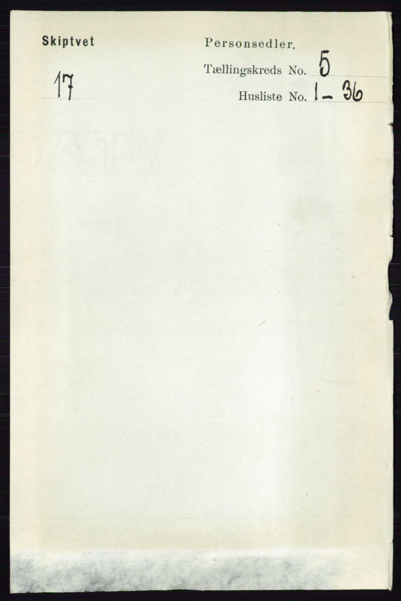 RA, Folketelling 1891 for 0127 Skiptvet herred, 1891, s. 2643