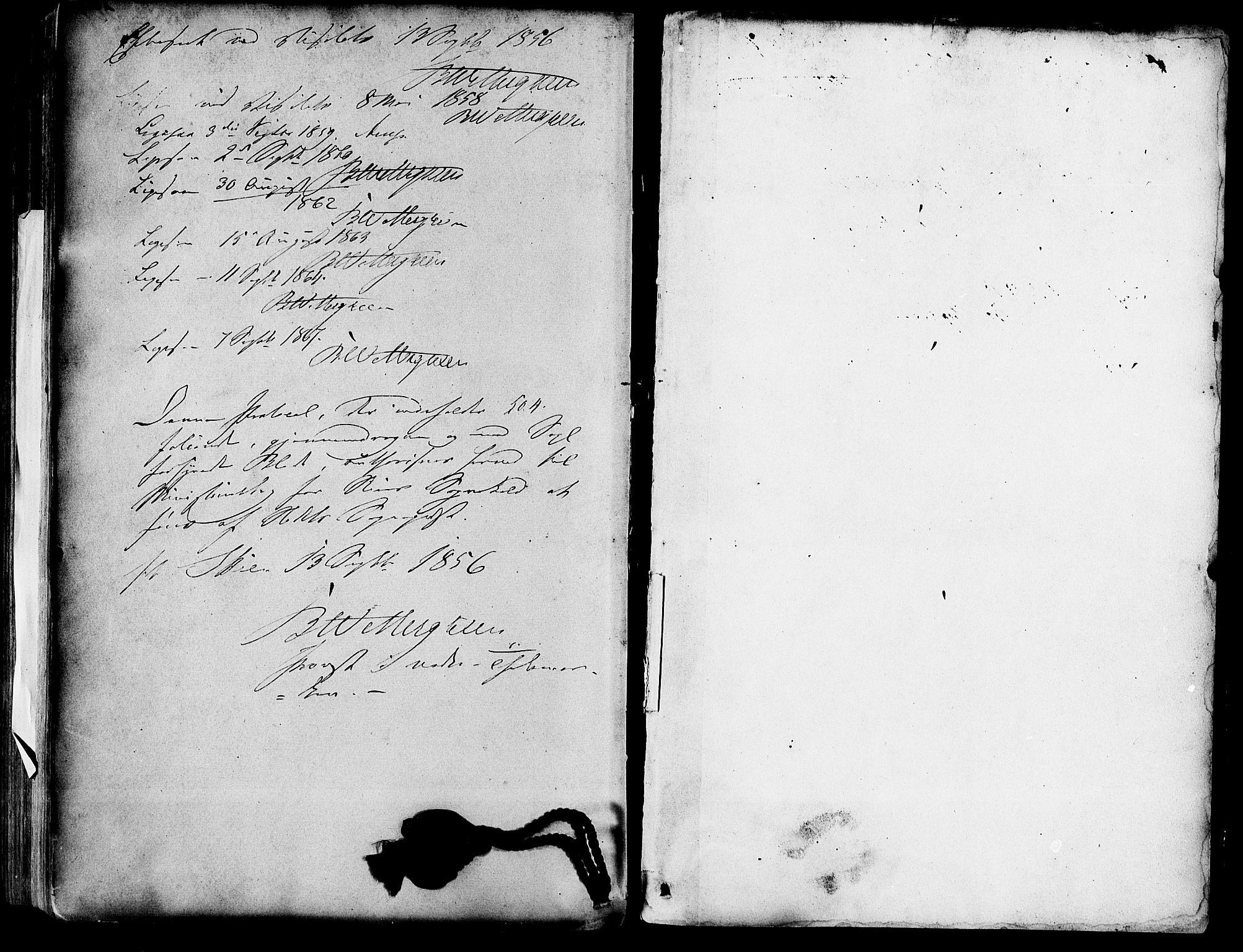 SAKO, Skien kirkebøker, F/Fa/L0007: Ministerialbok nr. 7, 1856-1865