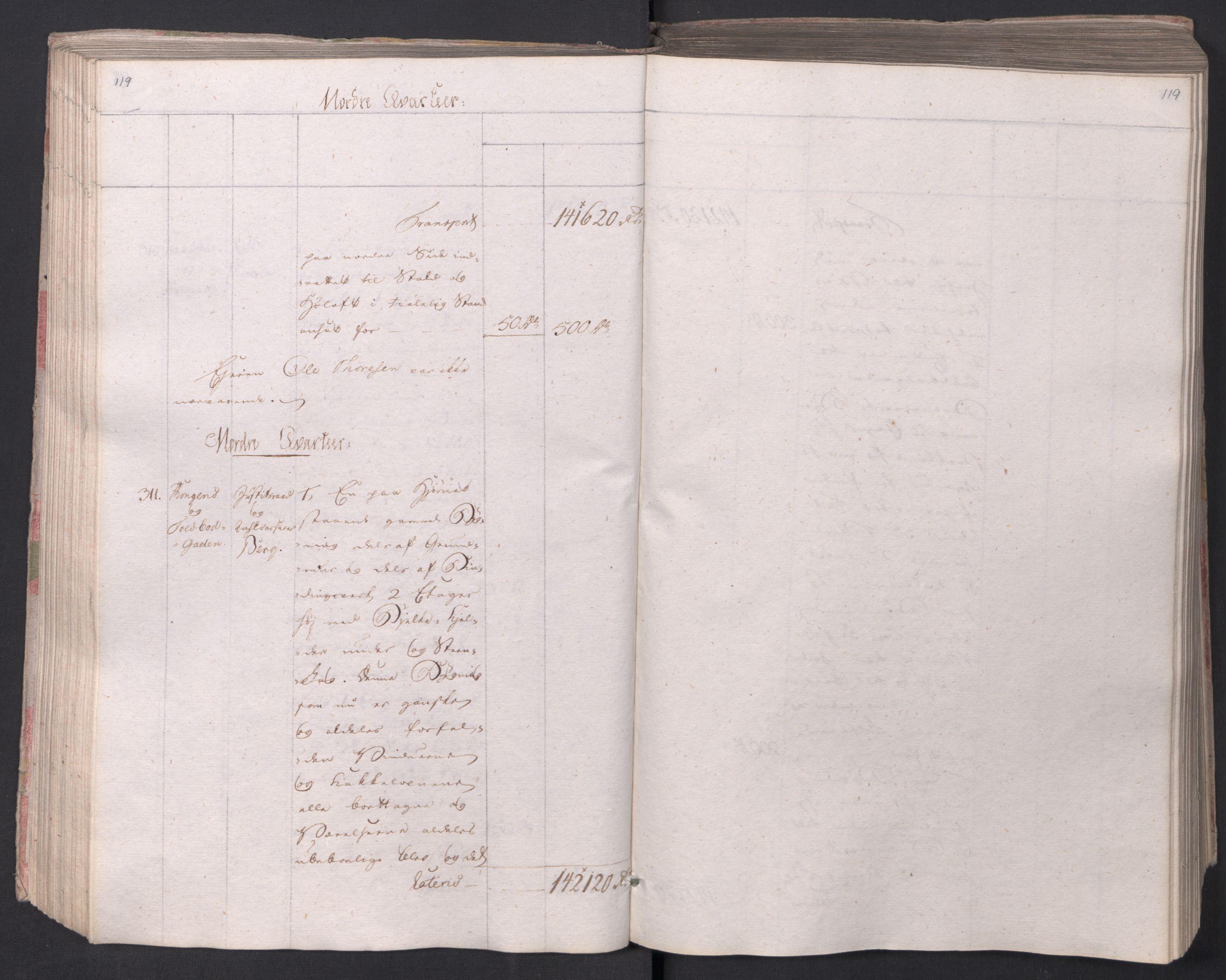 SAO, Kristiania stiftamt, I/Ia/L0015: Branntakster, 1797, s. 119