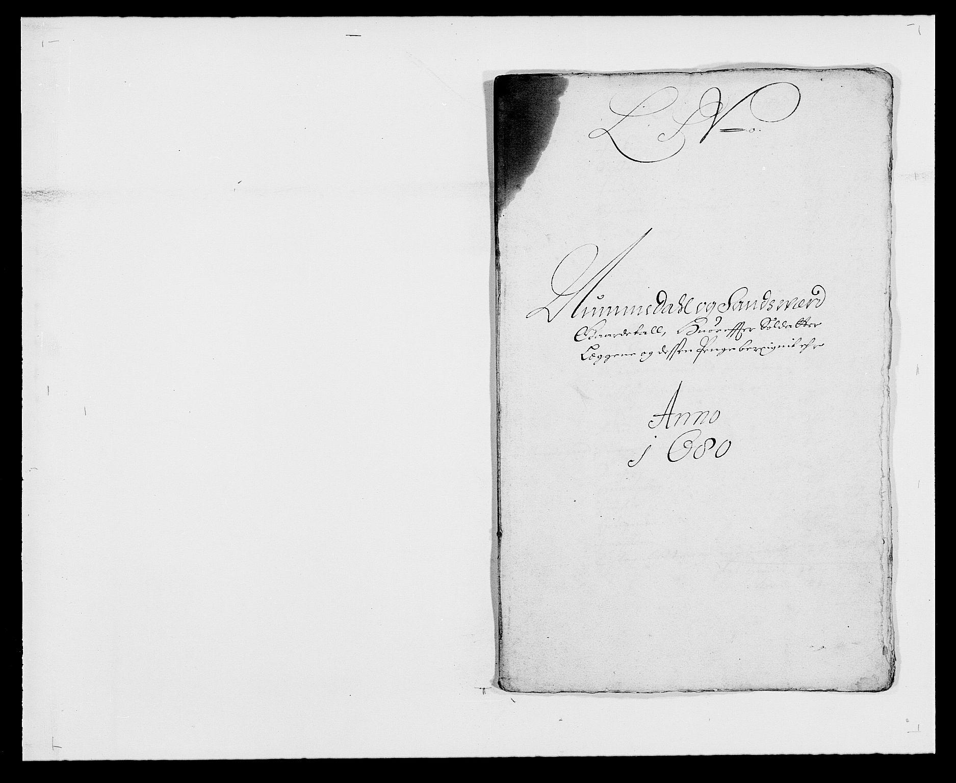 RA, Rentekammeret inntil 1814, Reviderte regnskaper, Fogderegnskap, R24/L1569: Fogderegnskap Numedal og Sandsvær, 1679-1686, s. 187