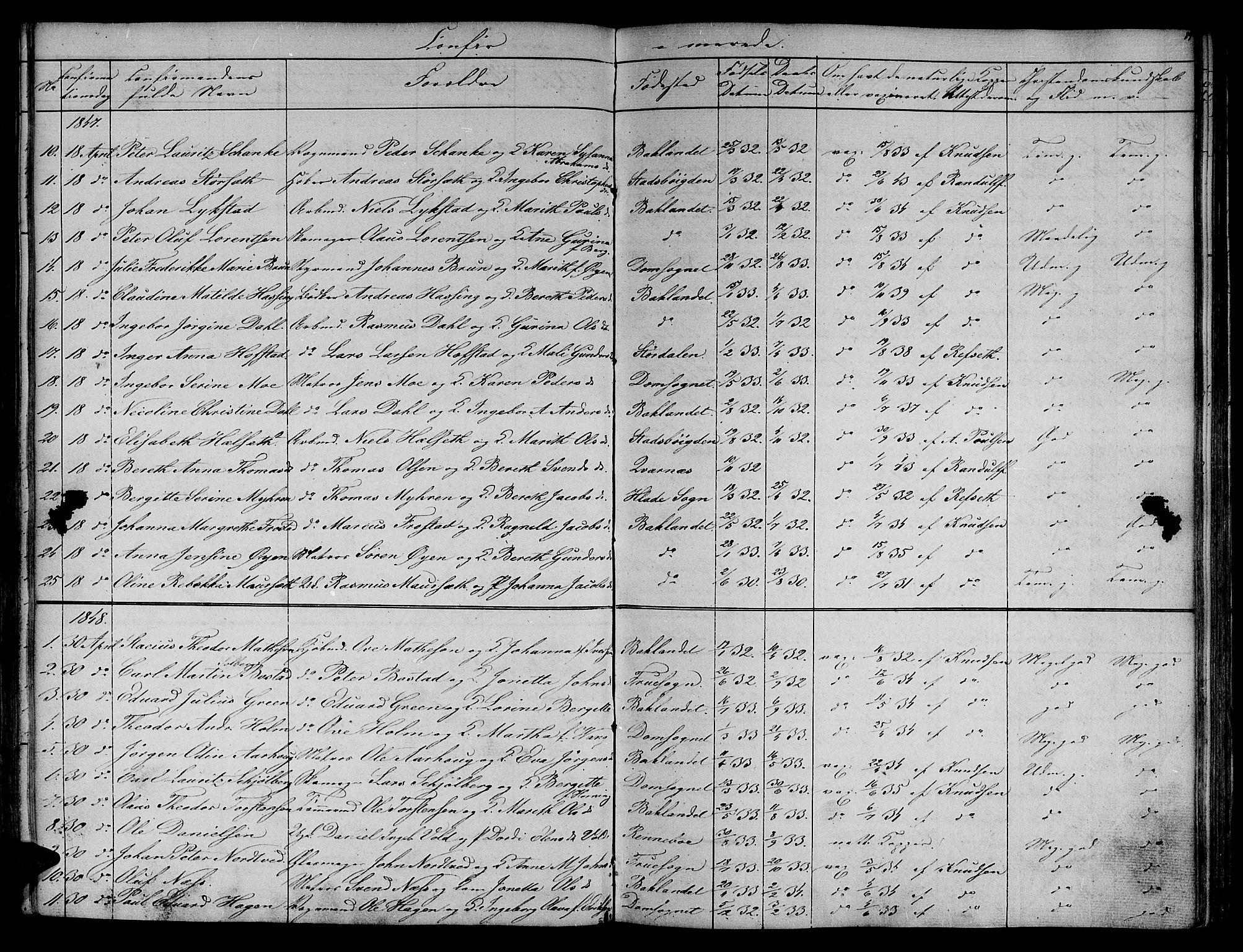 SAT, Ministerialprotokoller, klokkerbøker og fødselsregistre - Sør-Trøndelag, 604/L0182: Ministerialbok nr. 604A03, 1818-1850, s. 89