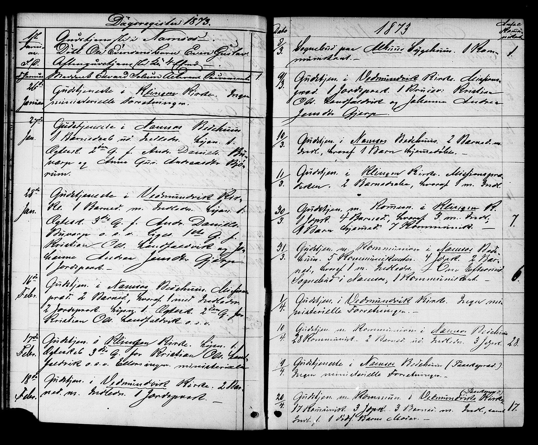 SAT, Ministerialprotokoller, klokkerbøker og fødselsregistre - Nord-Trøndelag, 768/L0571: Ministerialbok nr. 768A06, 1869-1888