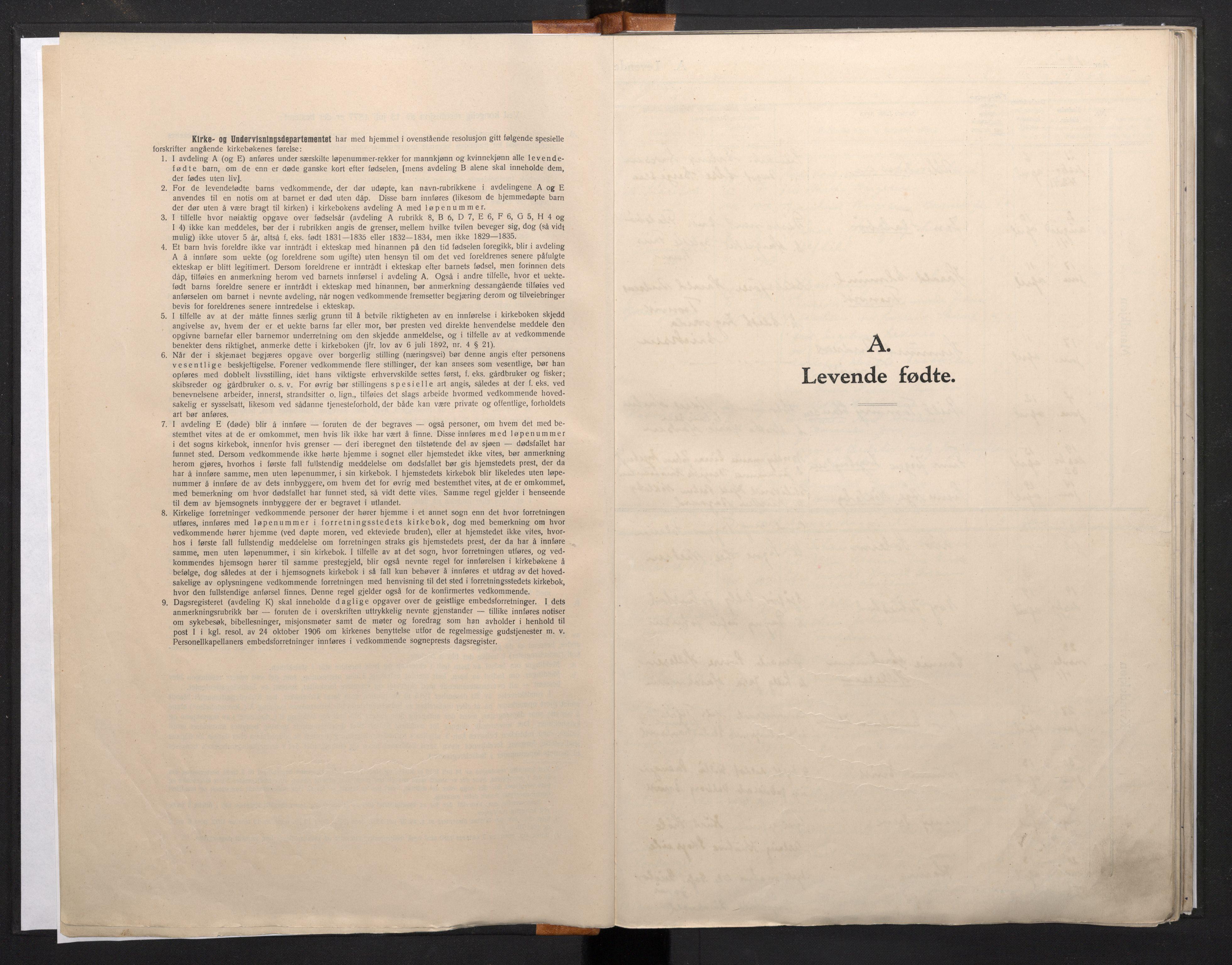 SAB, Domkirken Sokneprestembete, H/Haa/L0016: Ministerialbok nr. A 15, 1942-1952