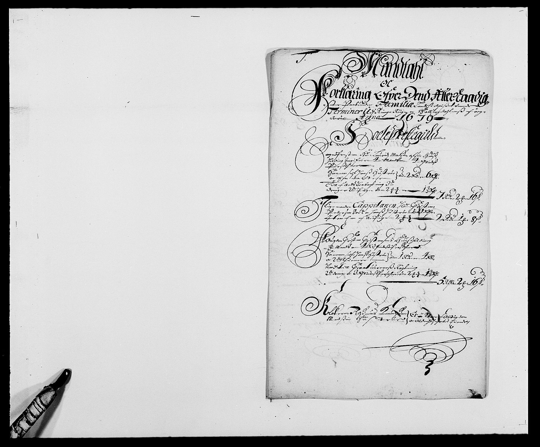 RA, Rentekammeret inntil 1814, Reviderte regnskaper, Fogderegnskap, R21/L1443: Fogderegnskap Ringerike og Hallingdal, 1678-1680, s. 308