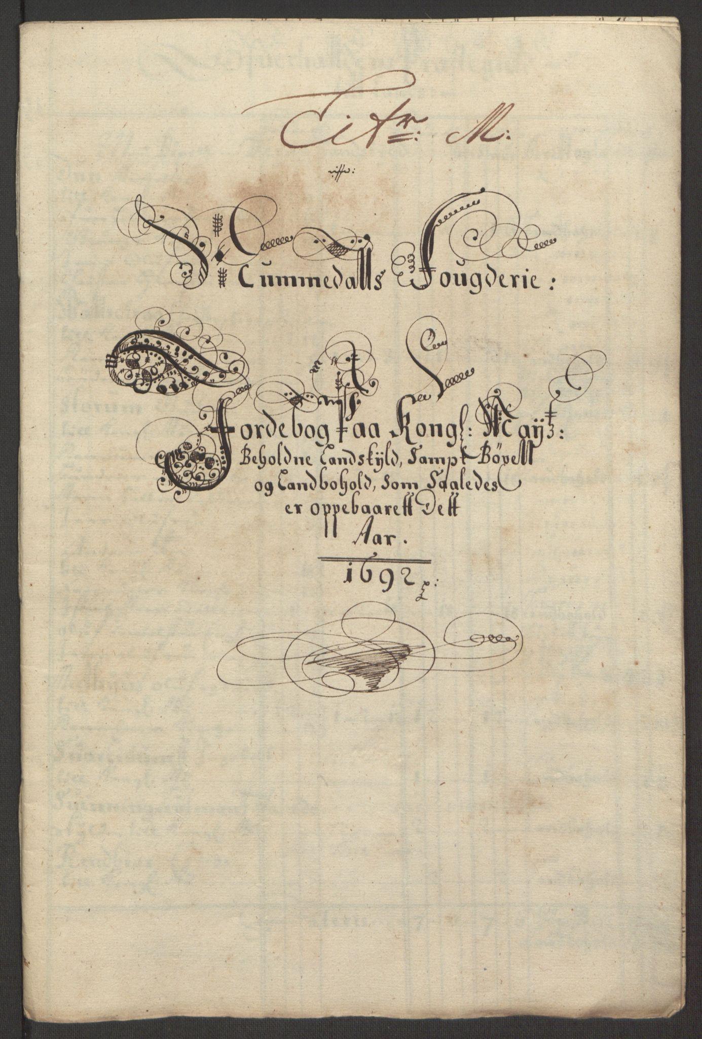 RA, Rentekammeret inntil 1814, Reviderte regnskaper, Fogderegnskap, R64/L4424: Fogderegnskap Namdal, 1692-1695, s. 83