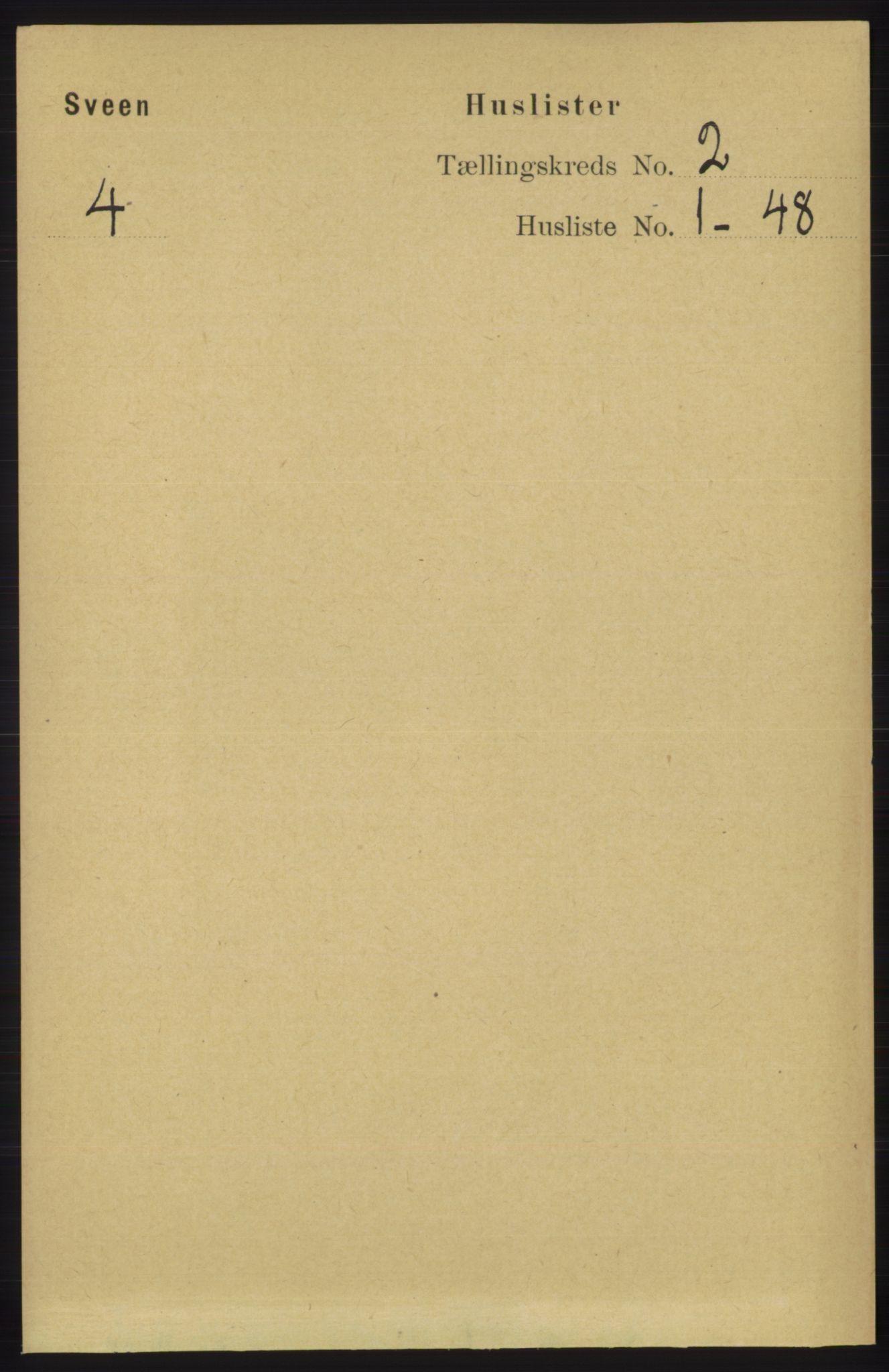RA, Folketelling 1891 for 1216 Sveio herred, 1891, s. 464