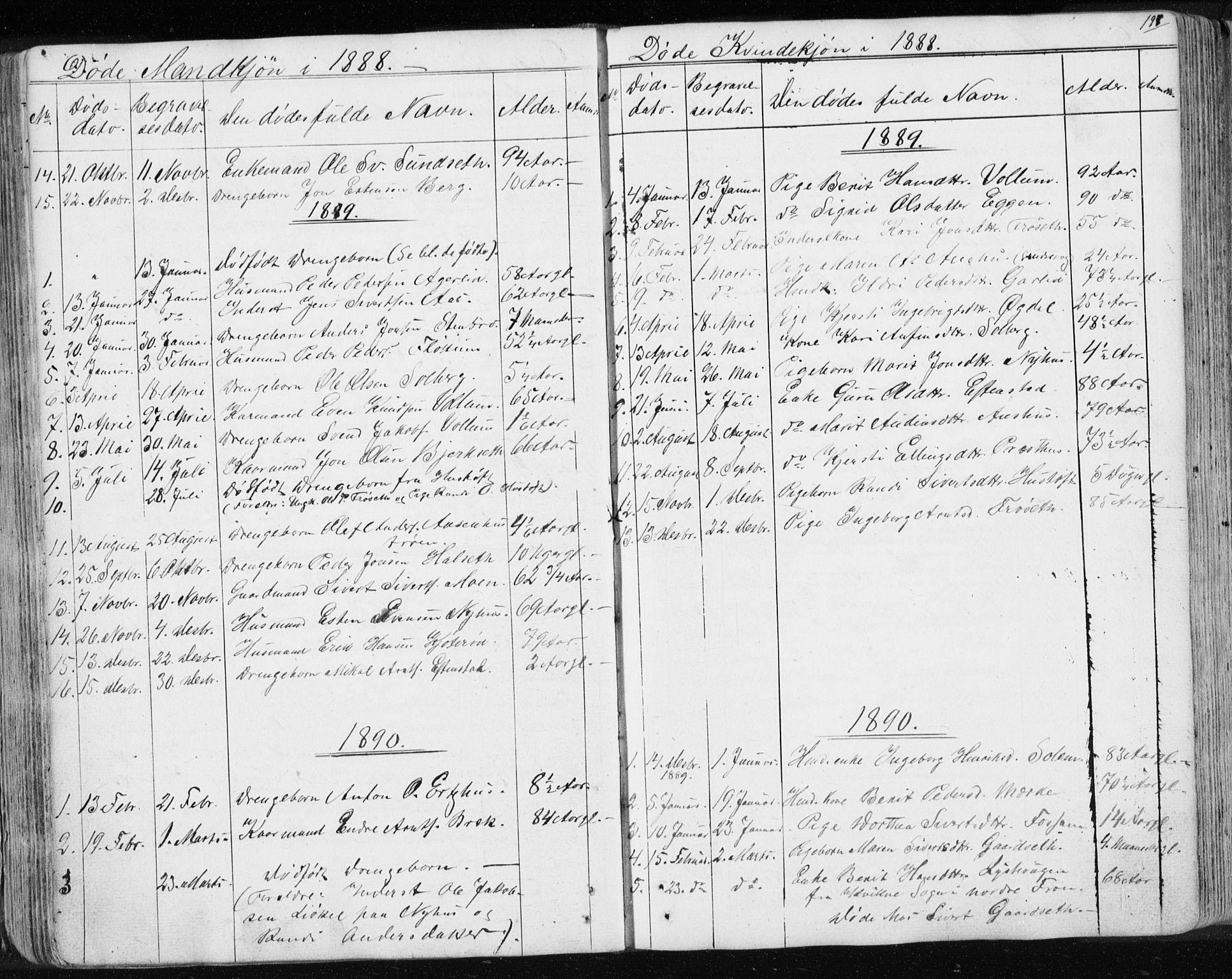 SAT, Ministerialprotokoller, klokkerbøker og fødselsregistre - Sør-Trøndelag, 689/L1043: Klokkerbok nr. 689C02, 1816-1892, s. 197