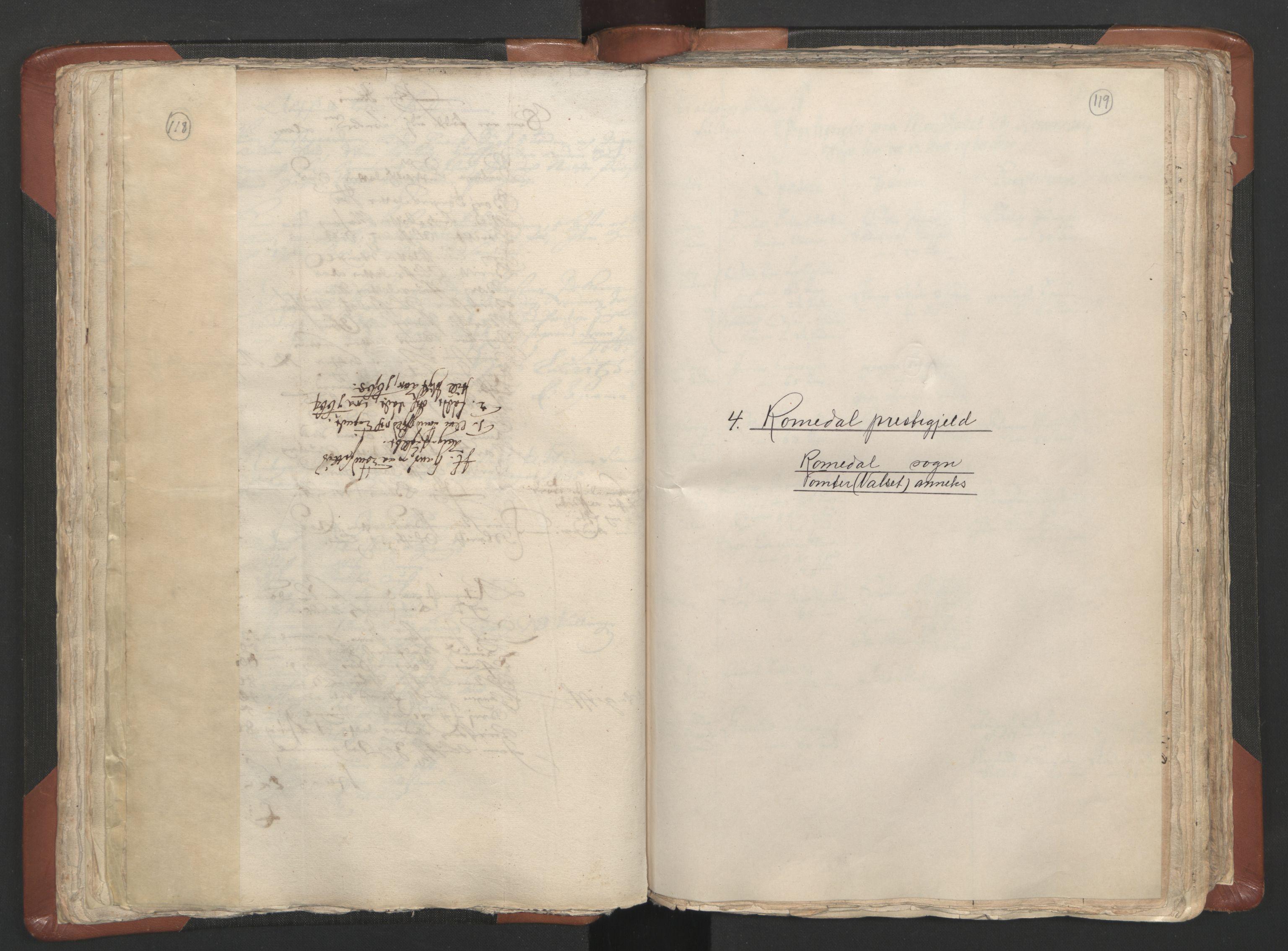 RA, Sogneprestenes manntall 1664-1666, nr. 5: Hedmark prosti, 1664-1666, s. 118-119
