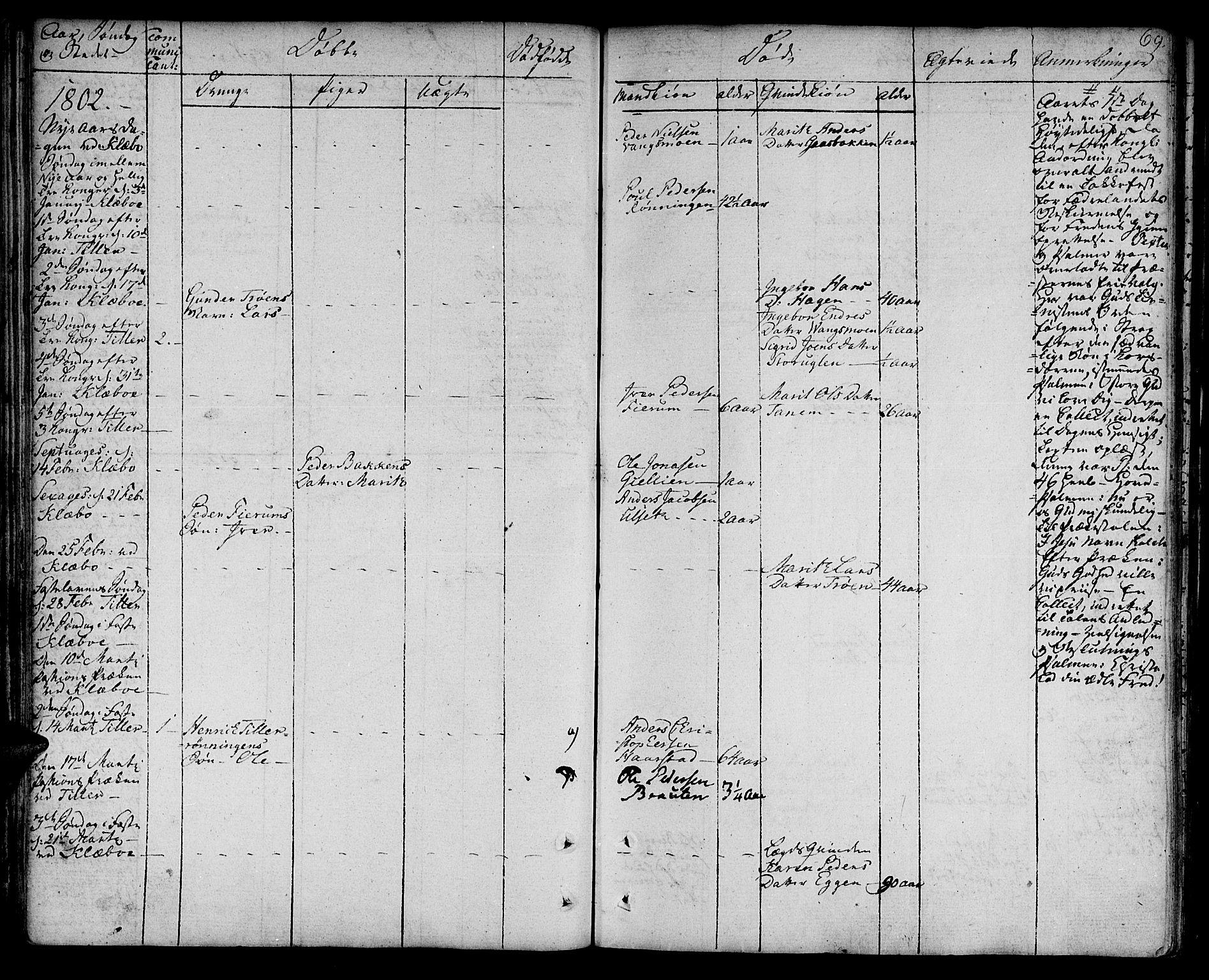 SAT, Ministerialprotokoller, klokkerbøker og fødselsregistre - Sør-Trøndelag, 618/L0438: Ministerialbok nr. 618A03, 1783-1815, s. 69