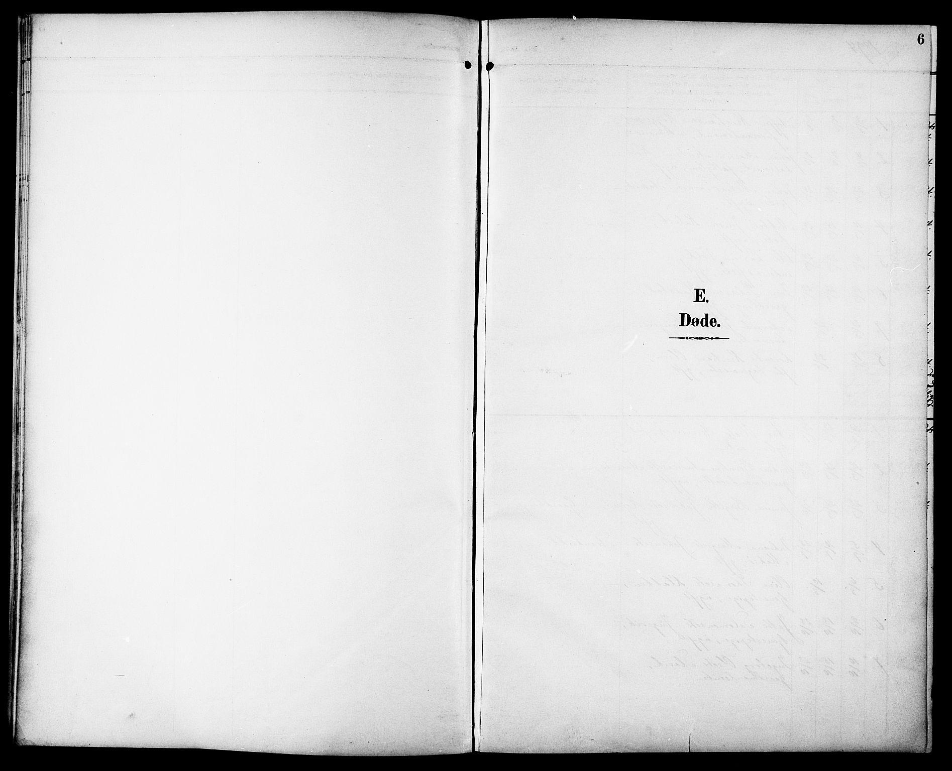 SAT, Ministerialprotokoller, klokkerbøker og fødselsregistre - Sør-Trøndelag, 629/L0486: Ministerialbok nr. 629A02, 1894-1919, s. 6