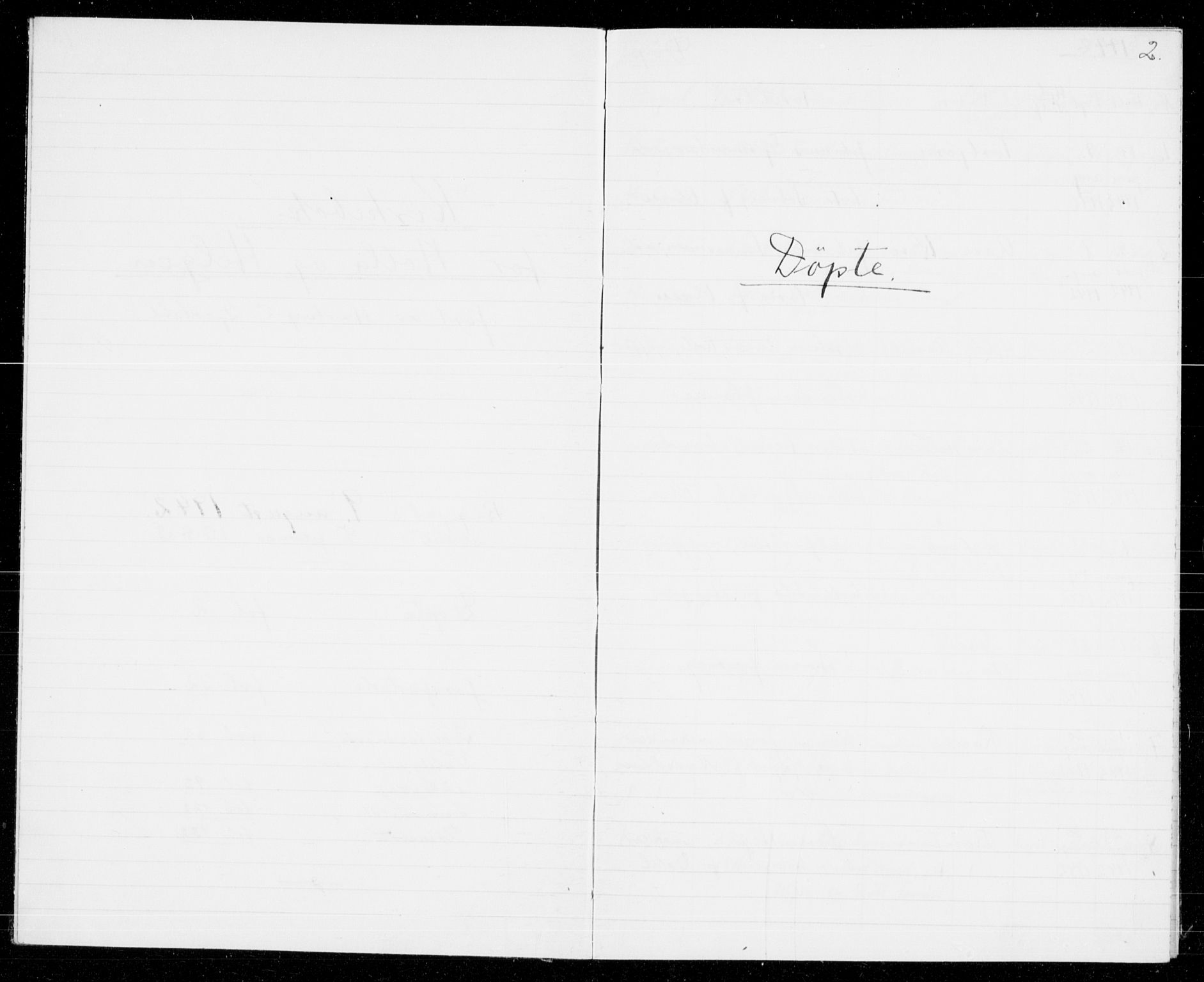 SAKO, Holla kirkebøker, G/Gb/L0004: Klokkerbok nr. II 4, 1942-1943, s. 2