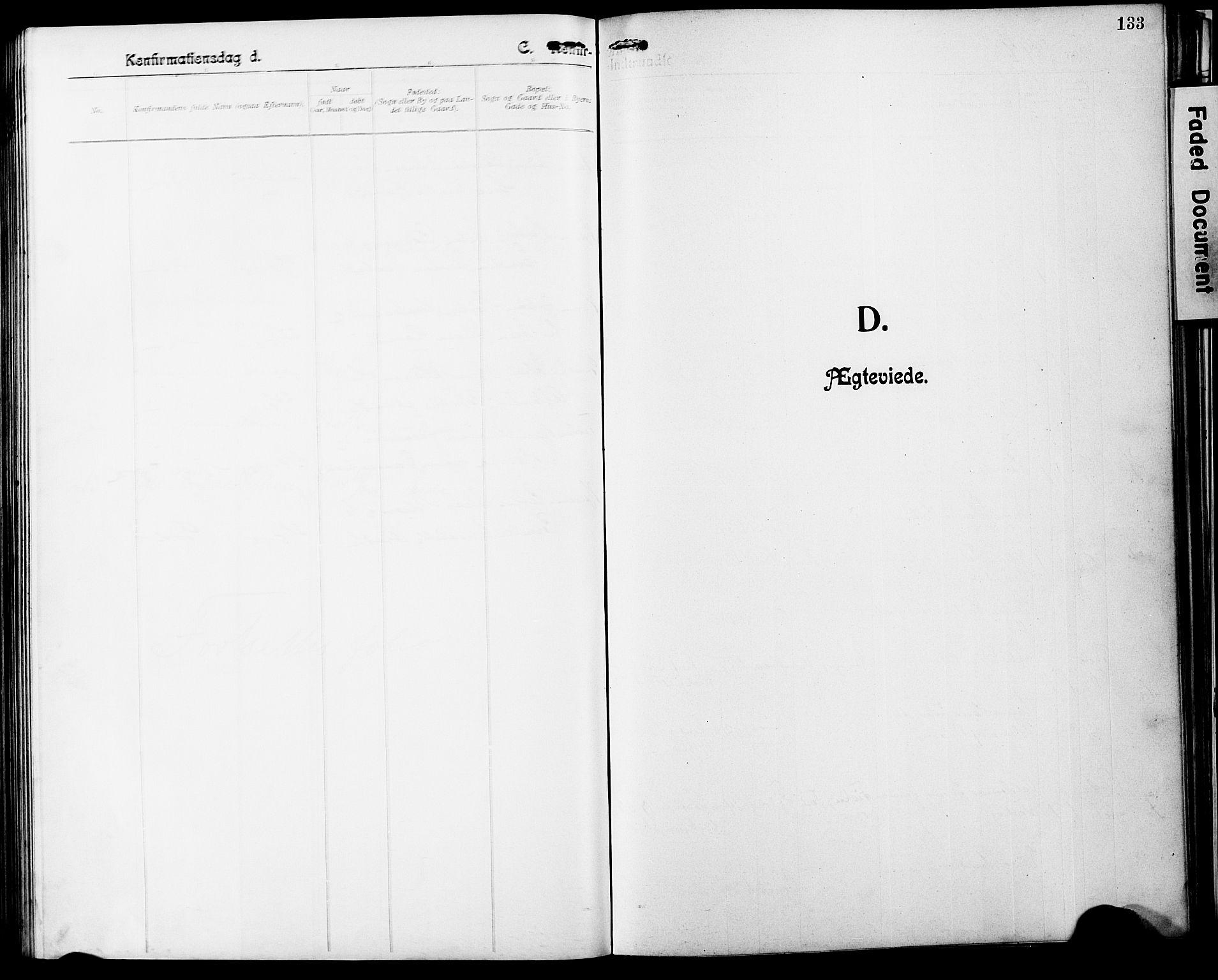 SAT, Ministerialprotokoller, klokkerbøker og fødselsregistre - Nordland, 803/L0077: Klokkerbok nr. 803C04, 1897-1930, s. 133