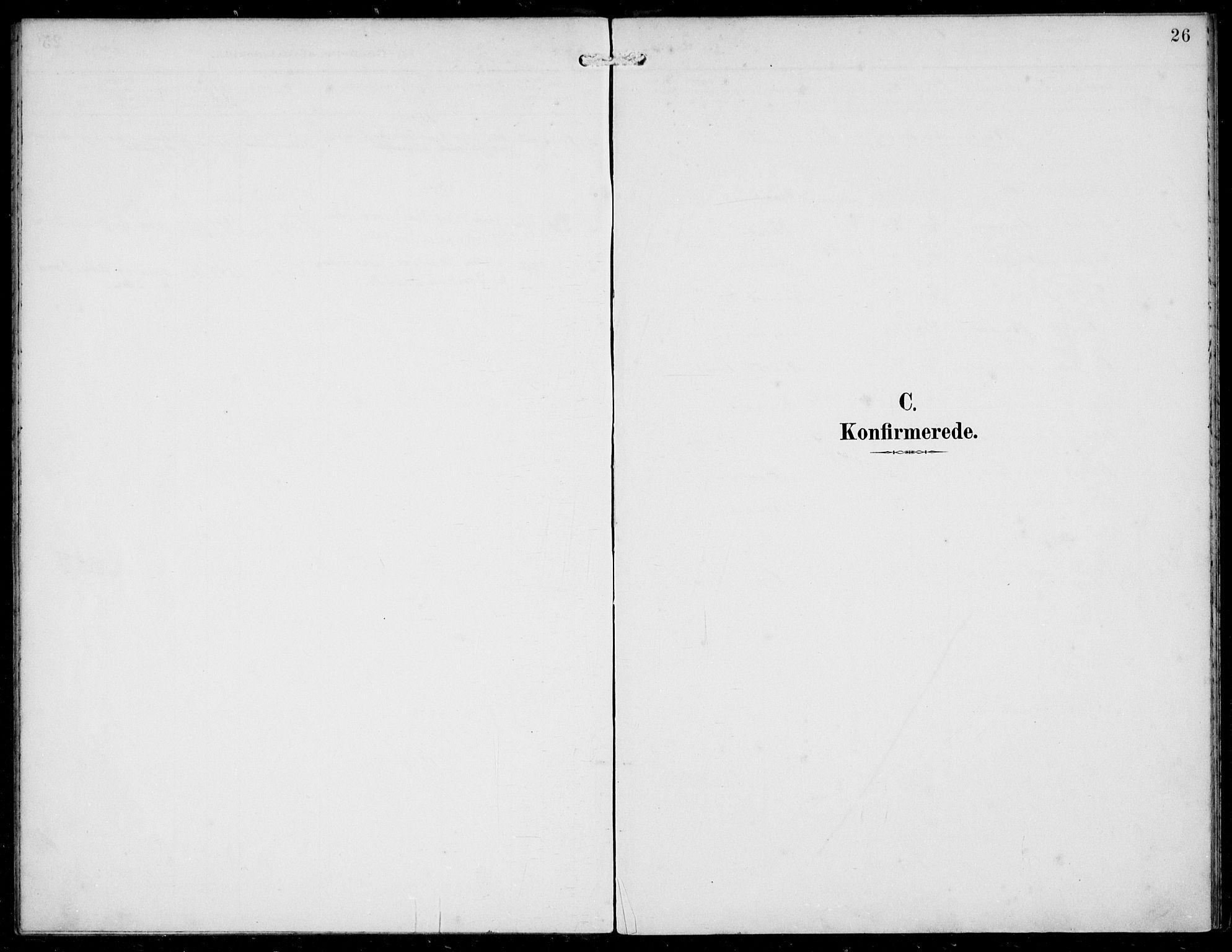SAB, Solund sokneprestembete, Ministerialbok nr. B  1, 1891-1901, s. 26