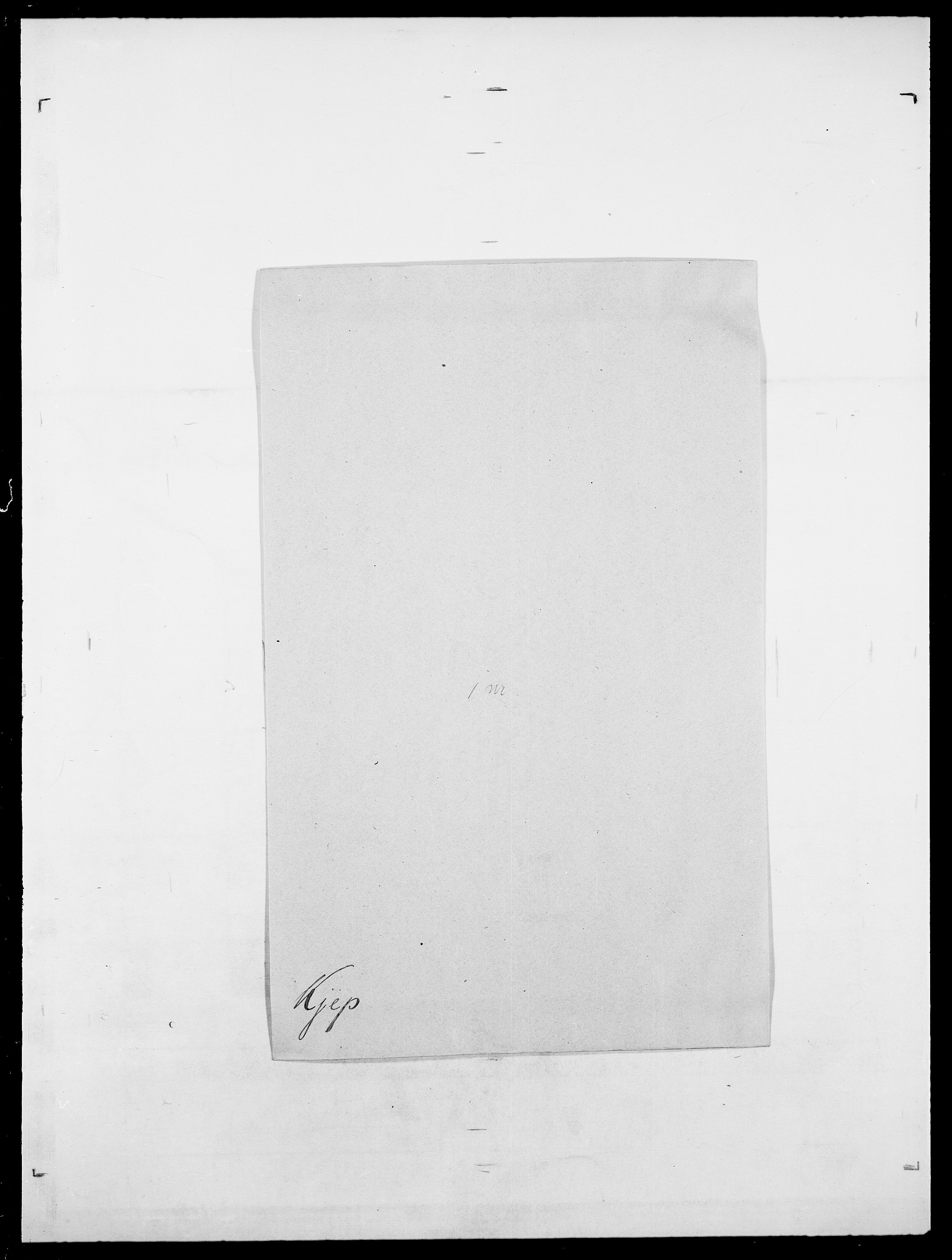 SAO, Delgobe, Charles Antoine - samling, D/Da/L0020: Irgens - Kjøsterud, s. 750