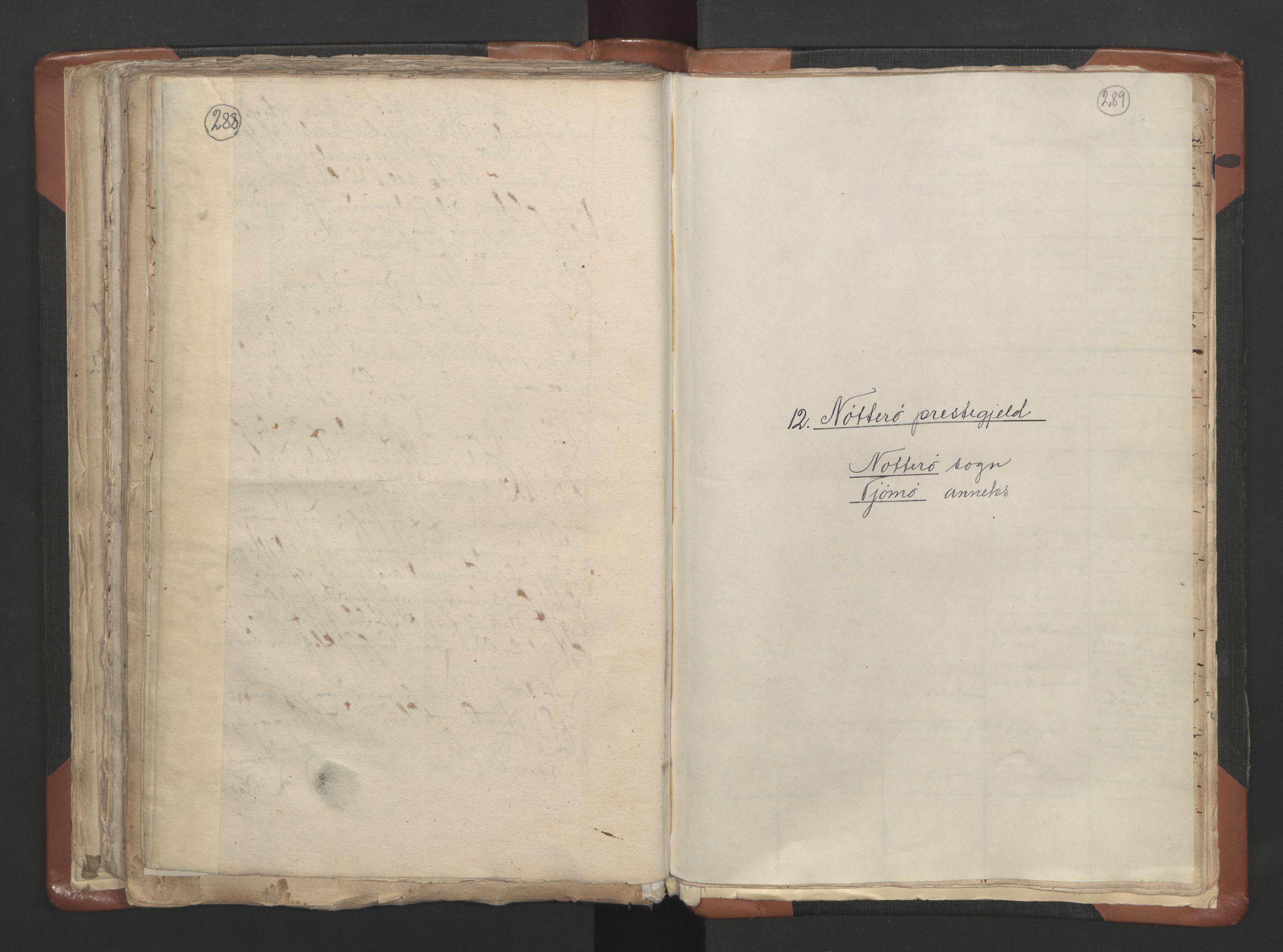 RA, Sogneprestenes manntall 1664-1666, nr. 10: Tønsberg prosti, 1664-1666, s. 288-289