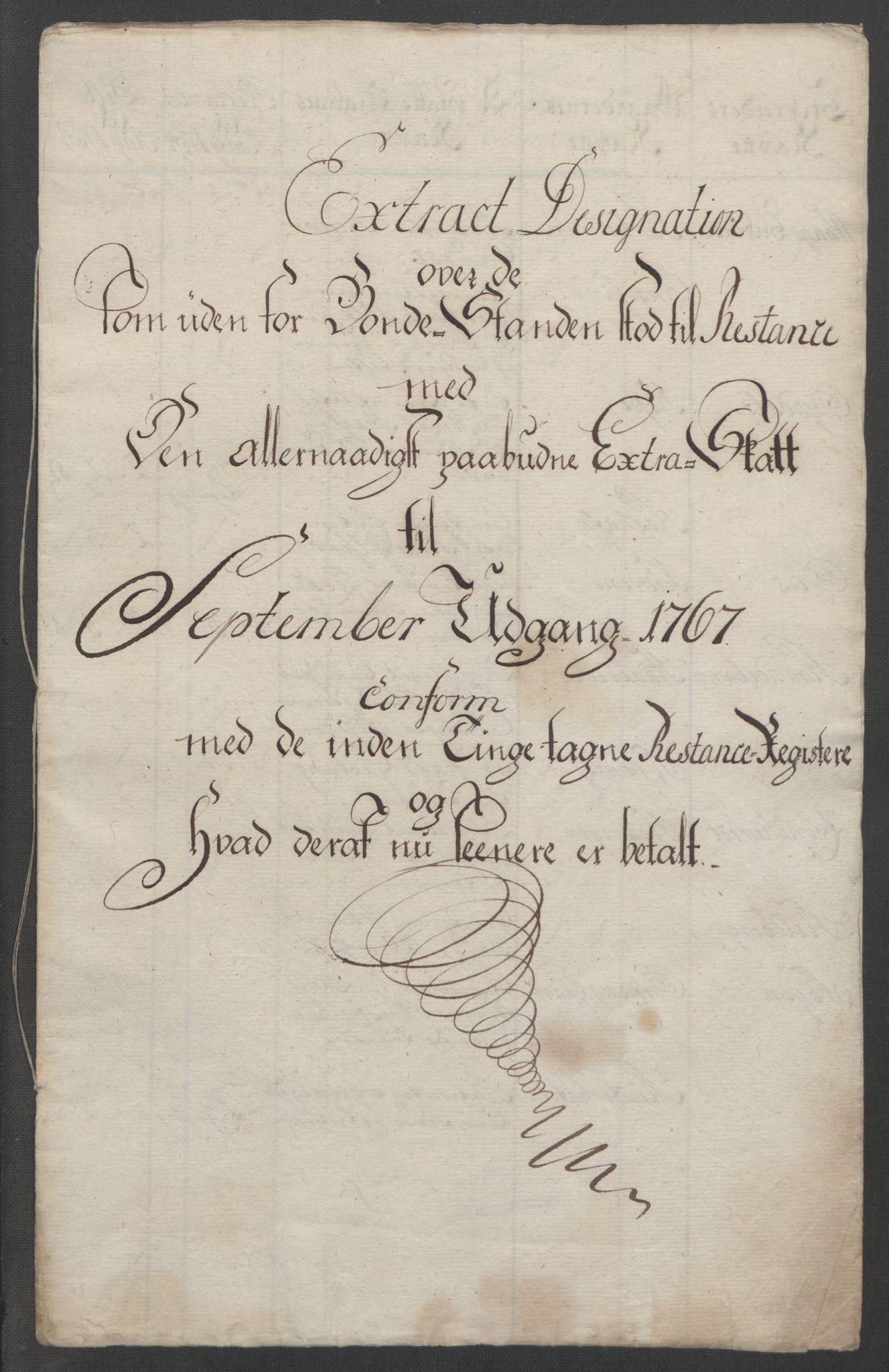 RA, Rentekammeret inntil 1814, Reviderte regnskaper, Fogderegnskap, R48/L3136: Ekstraskatten Sunnhordland og Hardanger, 1762-1772, s. 347