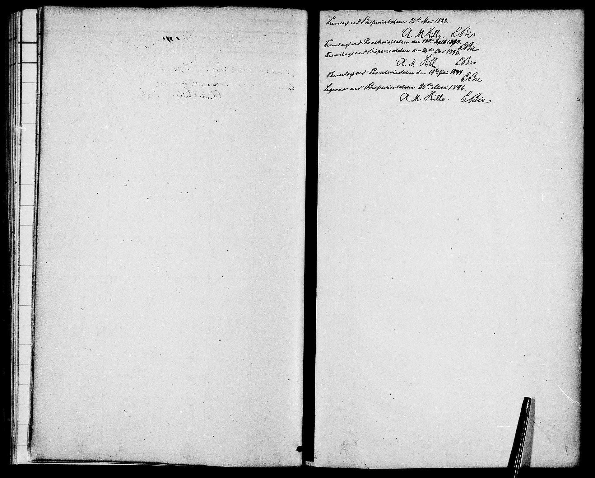 SAH, Biri prestekontor, Ministerialbok nr. 7, 1887-1893