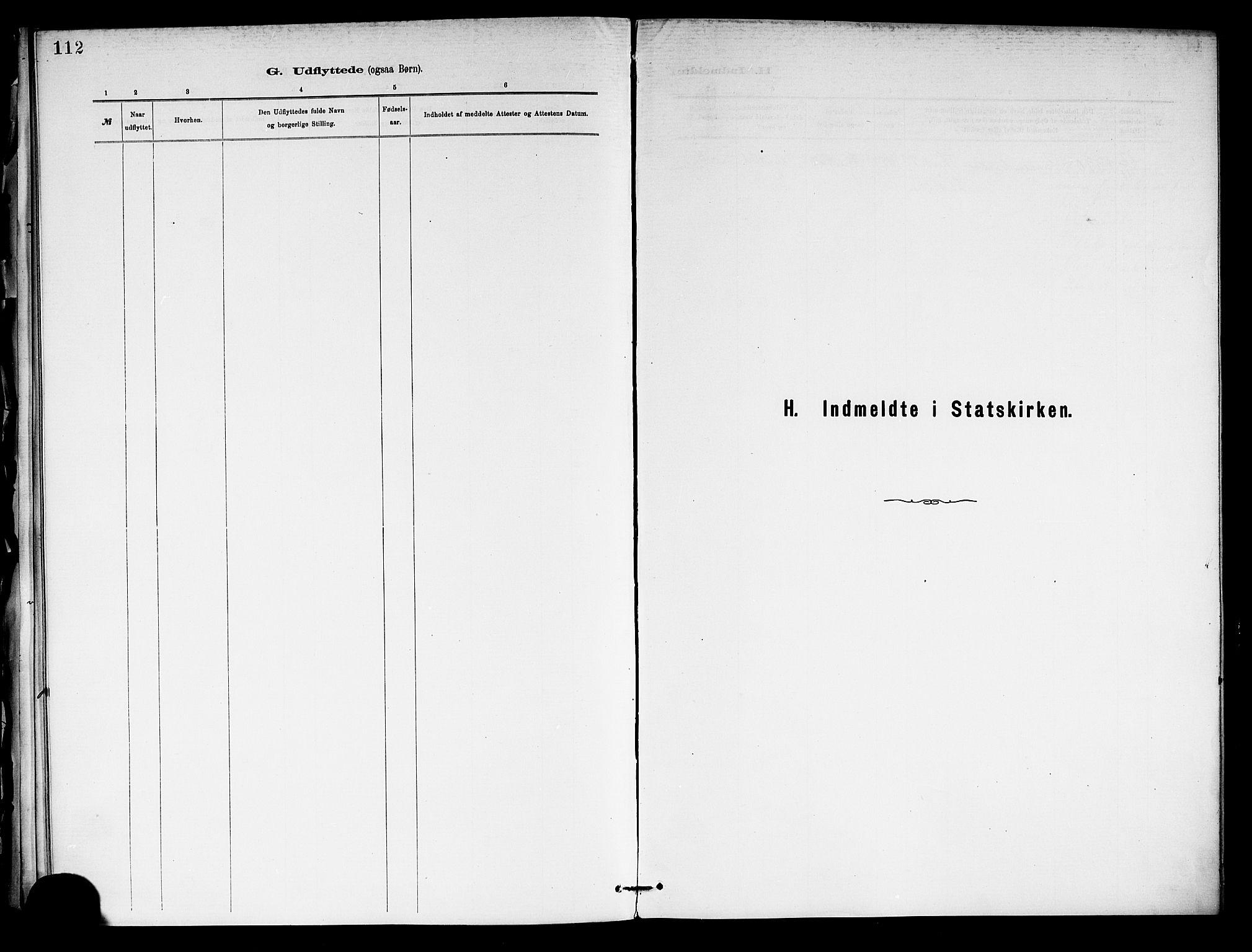 SAKO, Holla kirkebøker, F/Fa/L0009: Ministerialbok nr. 9, 1881-1897, s. 112