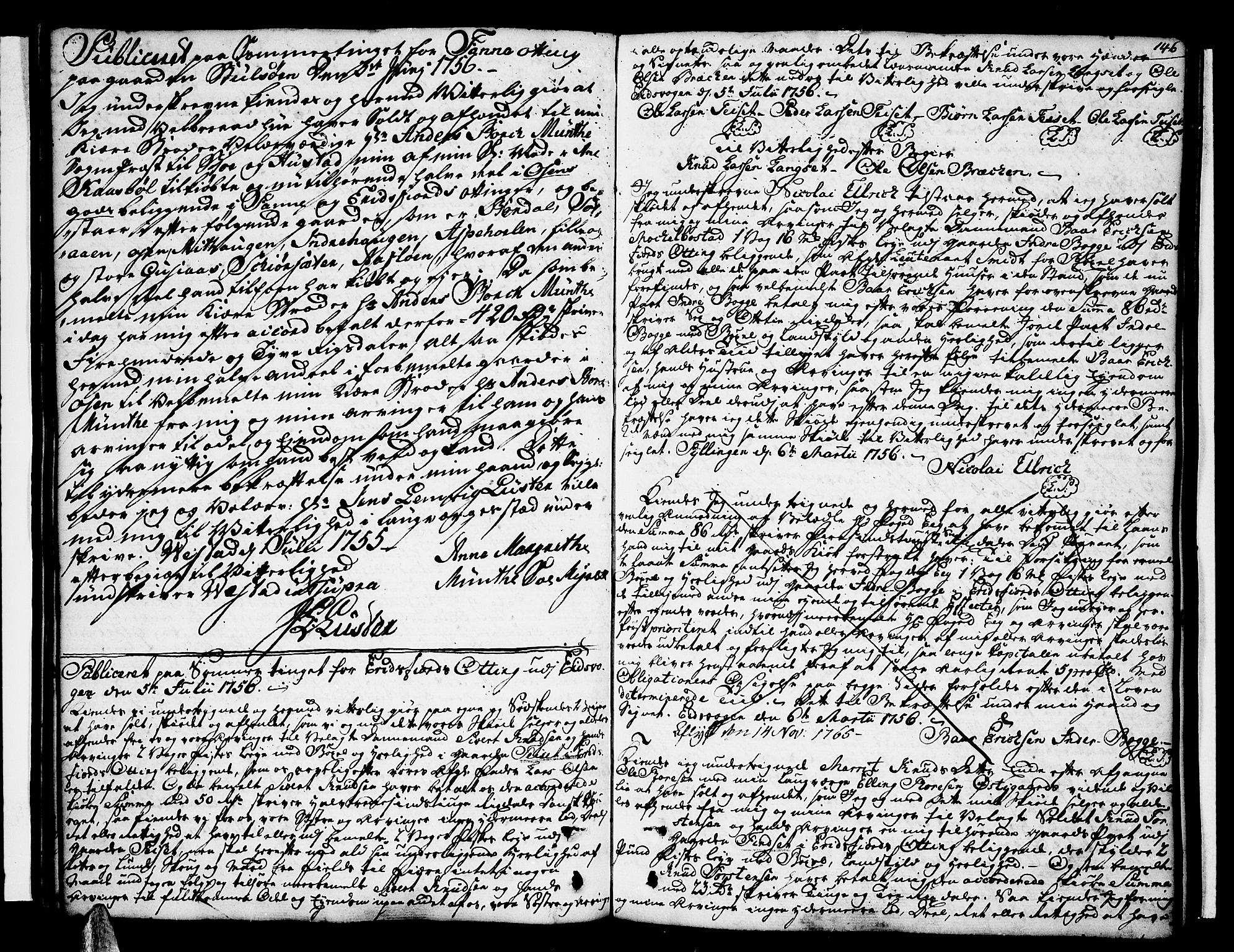 SAT, Romsdal sorenskriveri, 2/2C/L0003: Pantebok nr. 3, 1747-1767, s. 146