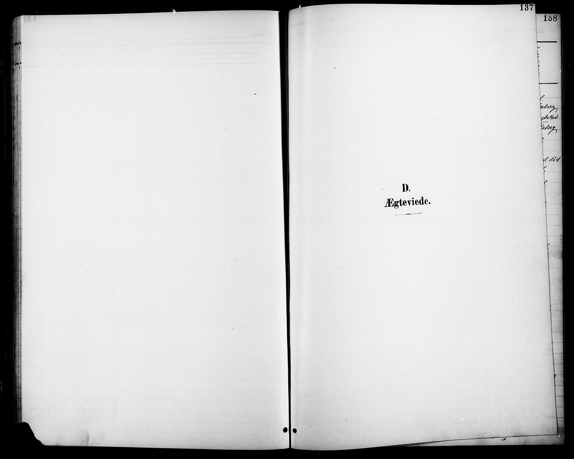 SAH, Søndre Land prestekontor, L/L0004: Klokkerbok nr. 4, 1901-1915, s. 137