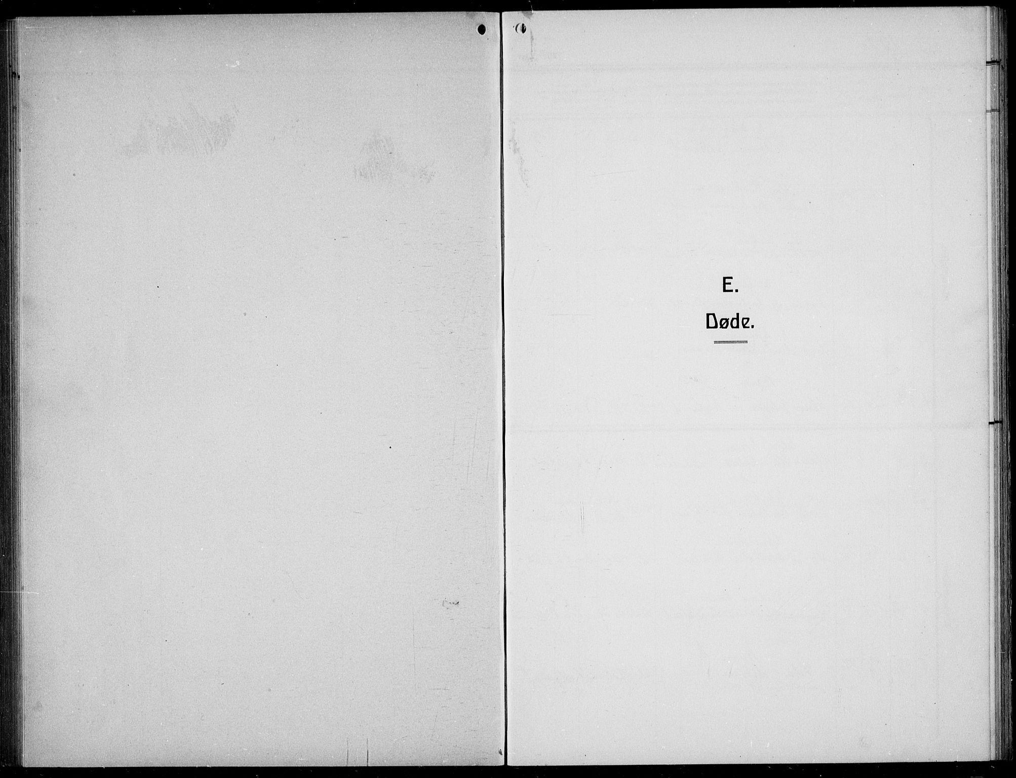 SAB, Bremanger Sokneprestembete, H/Hab: Klokkerbok nr. C  2, 1920-1936