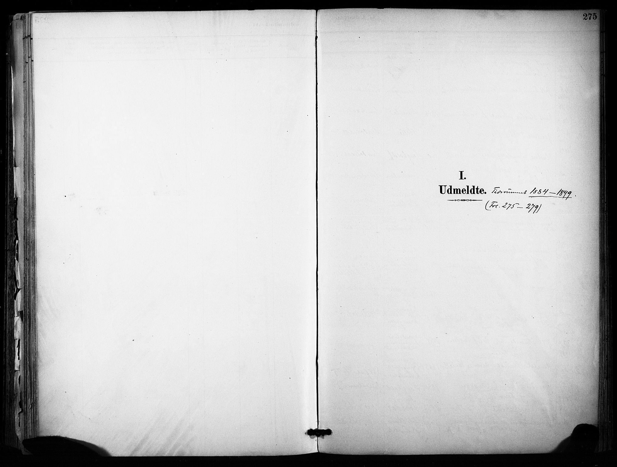 SAKO, Sannidal kirkebøker, F/Fa/L0015: Ministerialbok nr. 15, 1884-1899, s. 275