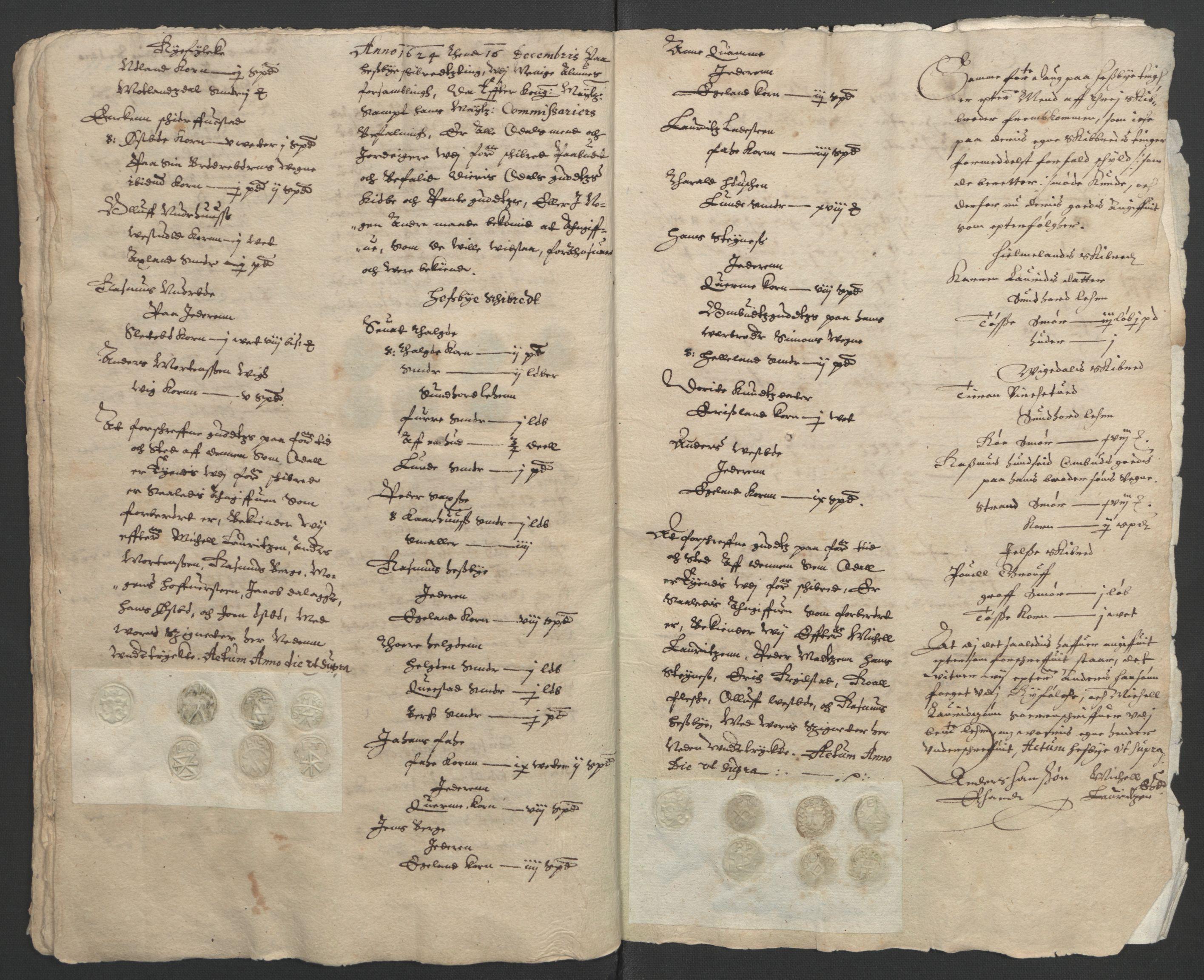 RA, Stattholderembetet 1572-1771, Ek/L0010: Jordebøker til utlikning av rosstjeneste 1624-1626:, 1624-1626, s. 32