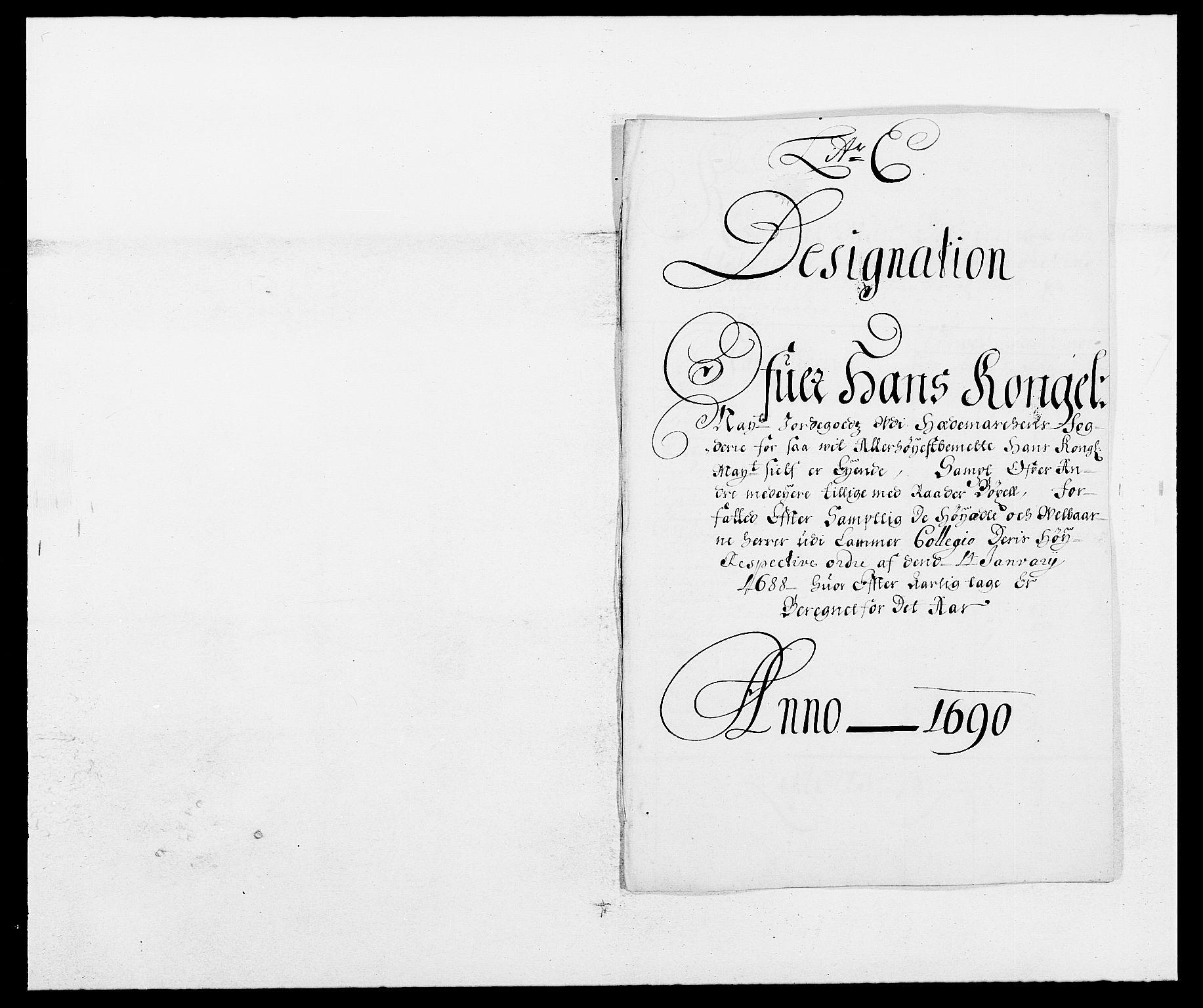 RA, Rentekammeret inntil 1814, Reviderte regnskaper, Fogderegnskap, R16/L1030: Fogderegnskap Hedmark, 1689-1691, s. 183