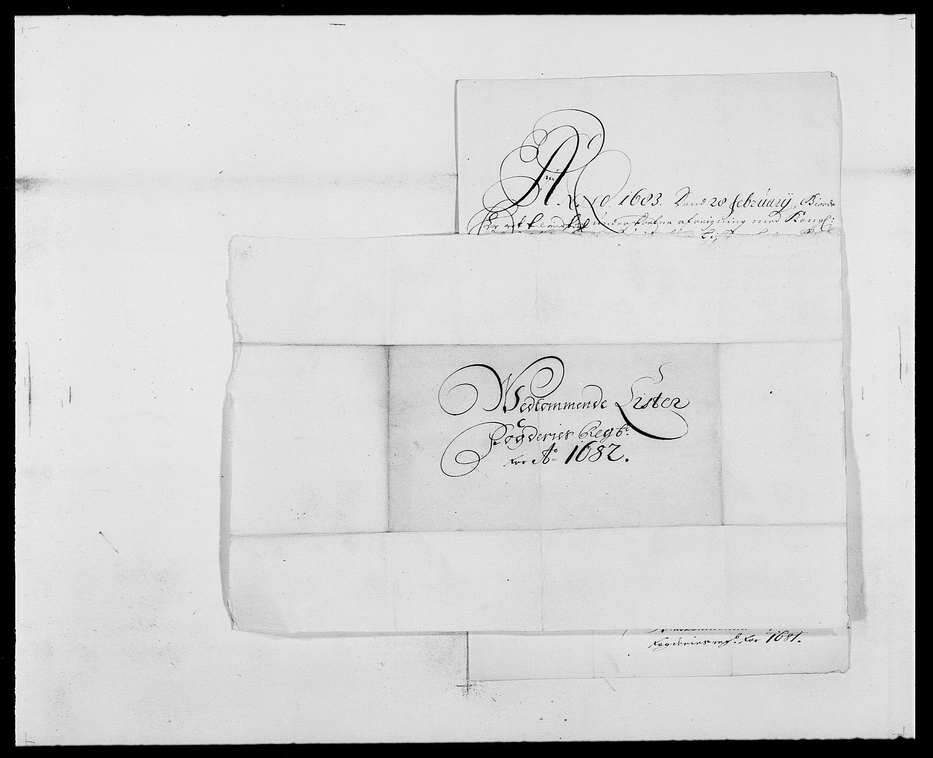 RA, Rentekammeret inntil 1814, Reviderte regnskaper, Fogderegnskap, R41/L2531: Fogderegnskap Lista, 1680-1682, s. 261