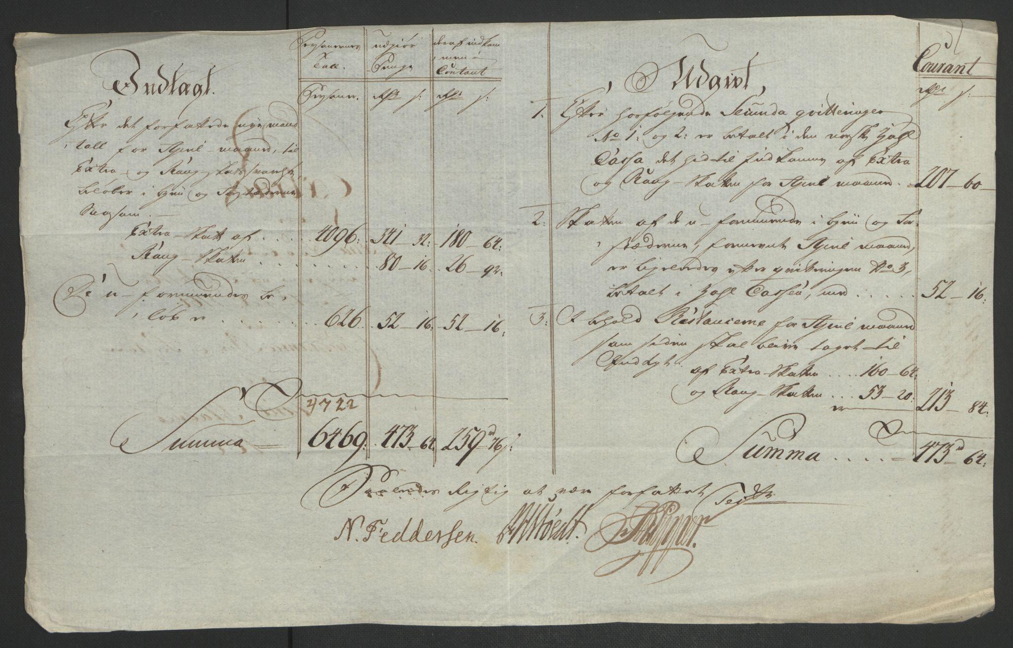RA, Rentekammeret inntil 1814, Reviderte regnskaper, Byregnskaper, R/Re/L0072: [E13] Kontribusjonsregnskap, 1763-1764, s. 361