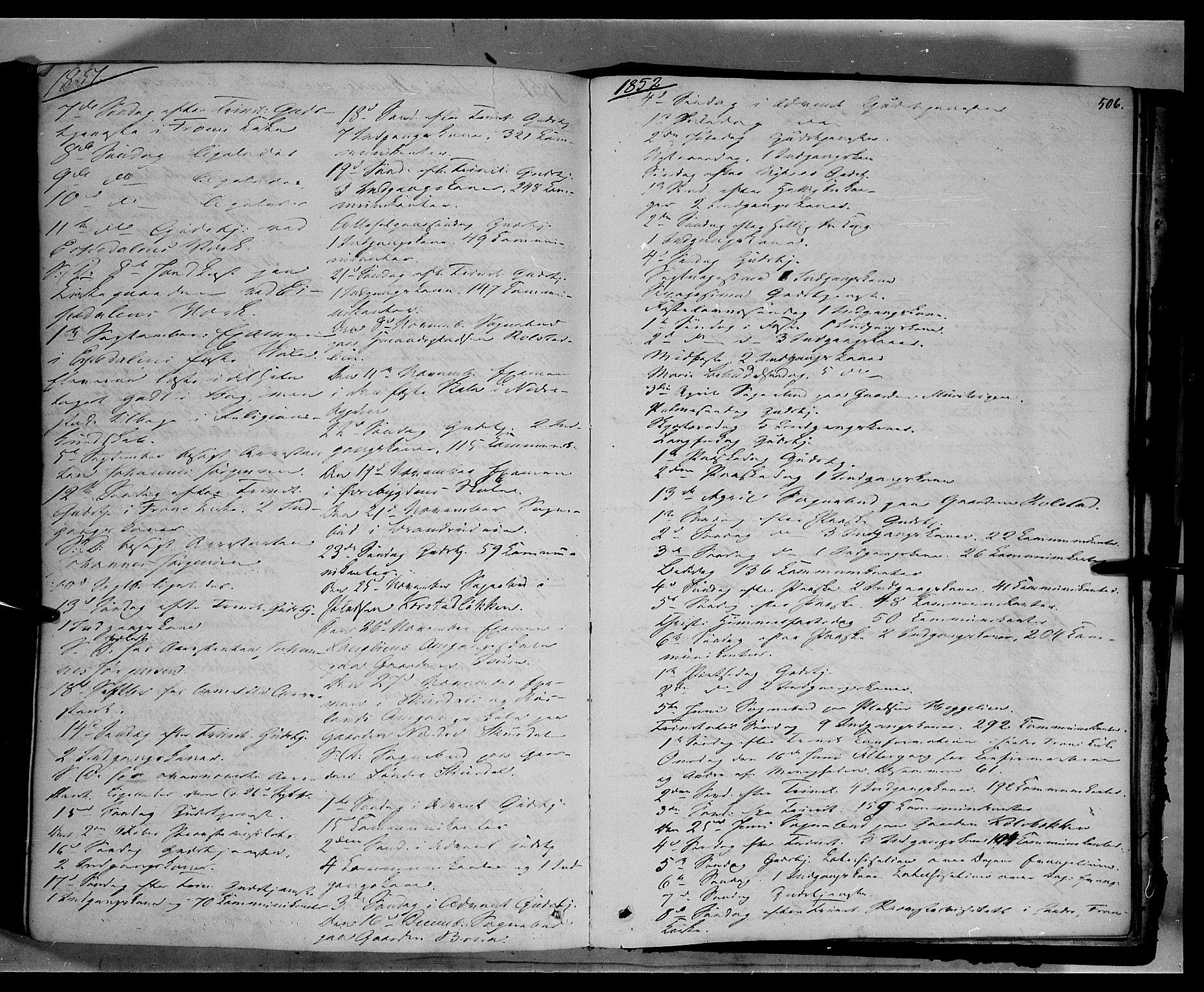 SAH, Sør-Fron prestekontor, H/Ha/Haa/L0001: Ministerialbok nr. 1, 1849-1863, s. 506