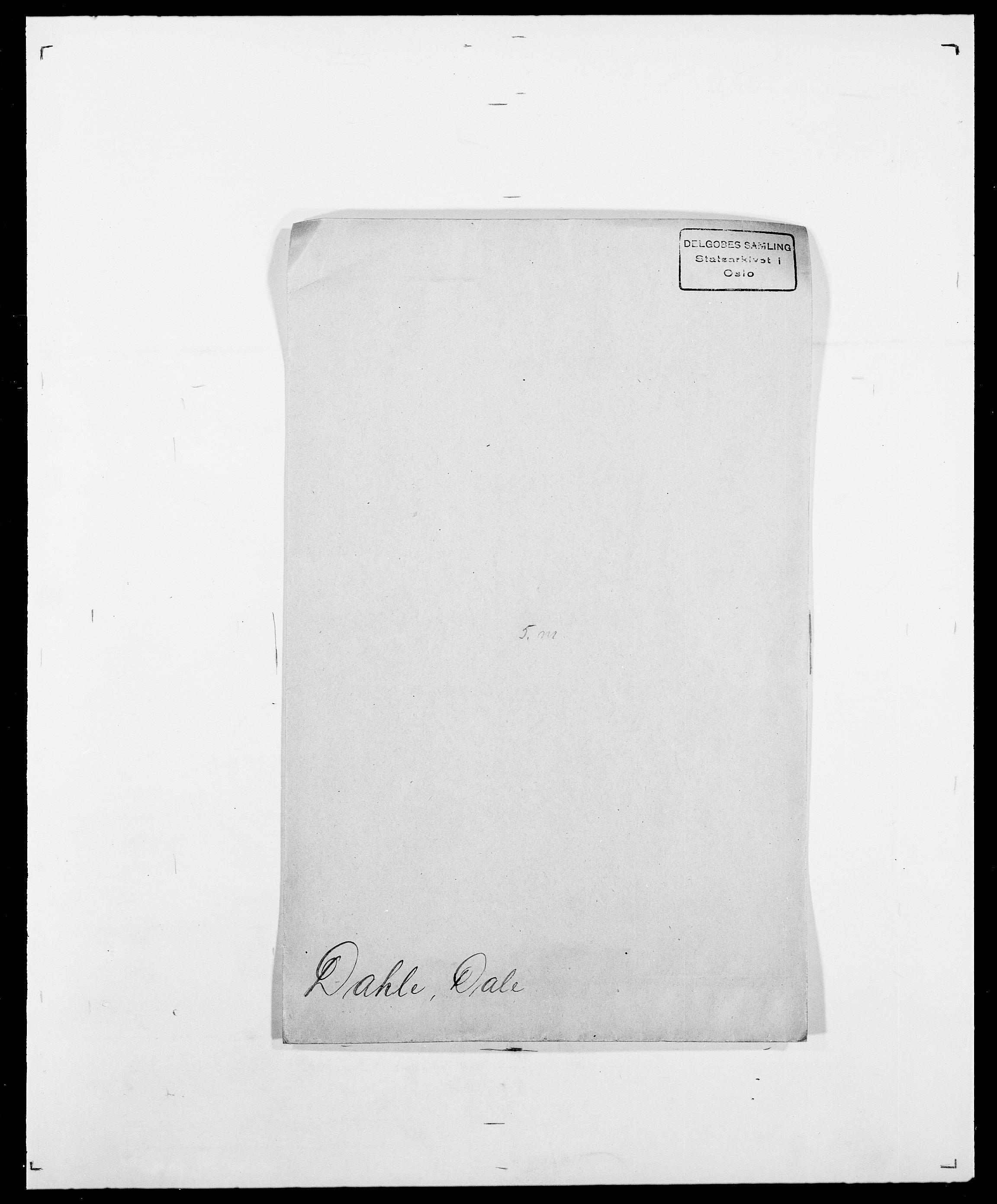 SAO, Delgobe, Charles Antoine - samling, D/Da/L0009: Dahl - v. Düren, s. 198